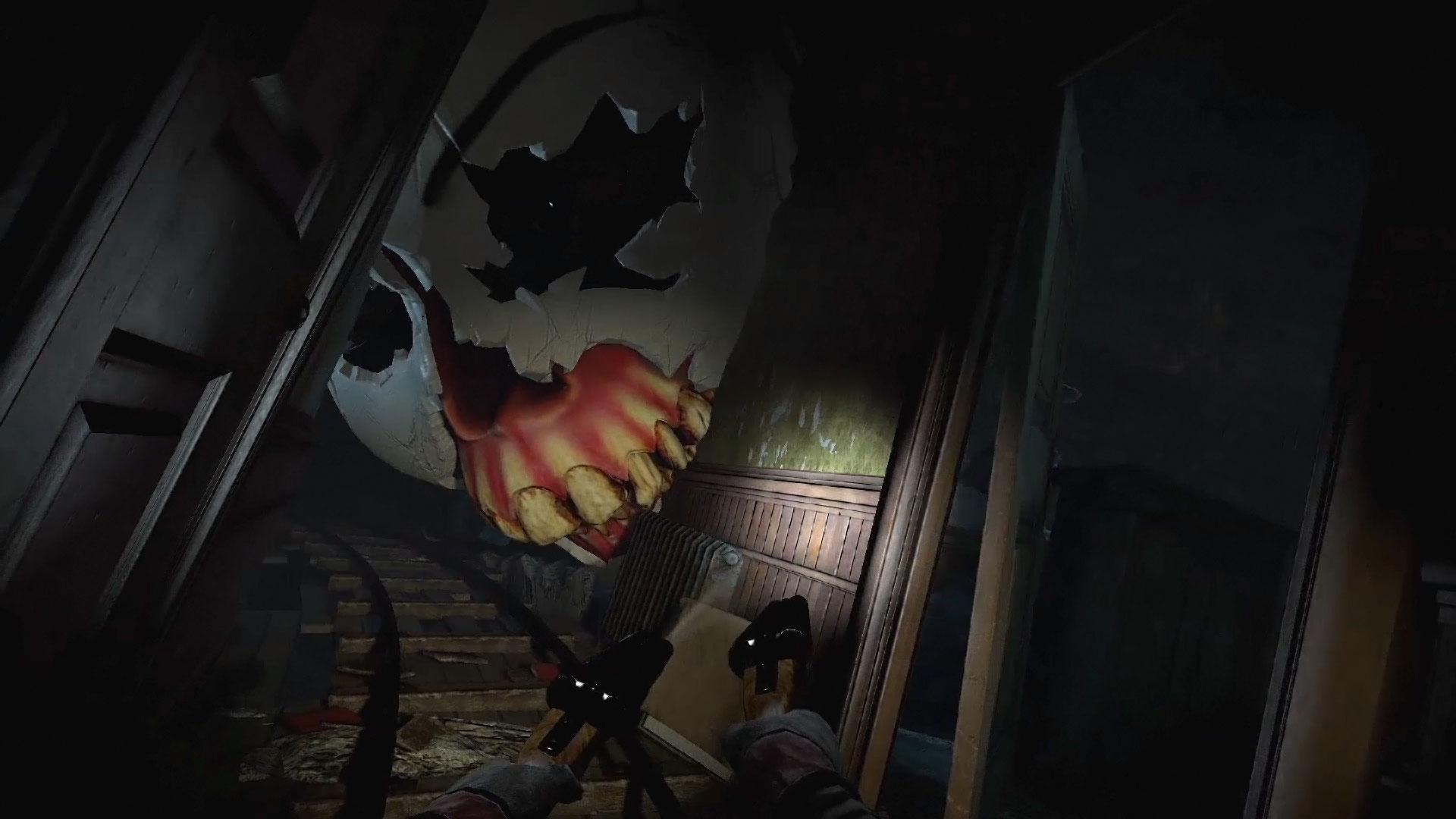 """Blutrausch in der Geister-Achterbahn: Mit dem Spin-Off """"Rush of Blood"""" zu seinem filmisch aufgezogenen Games-Grusical """"Until Dawn"""" liefert Sony einen der stärksten Titel für sein Cyber-Headset """"PlayStation VR"""". (13.10. für PS4, PS VR)"""