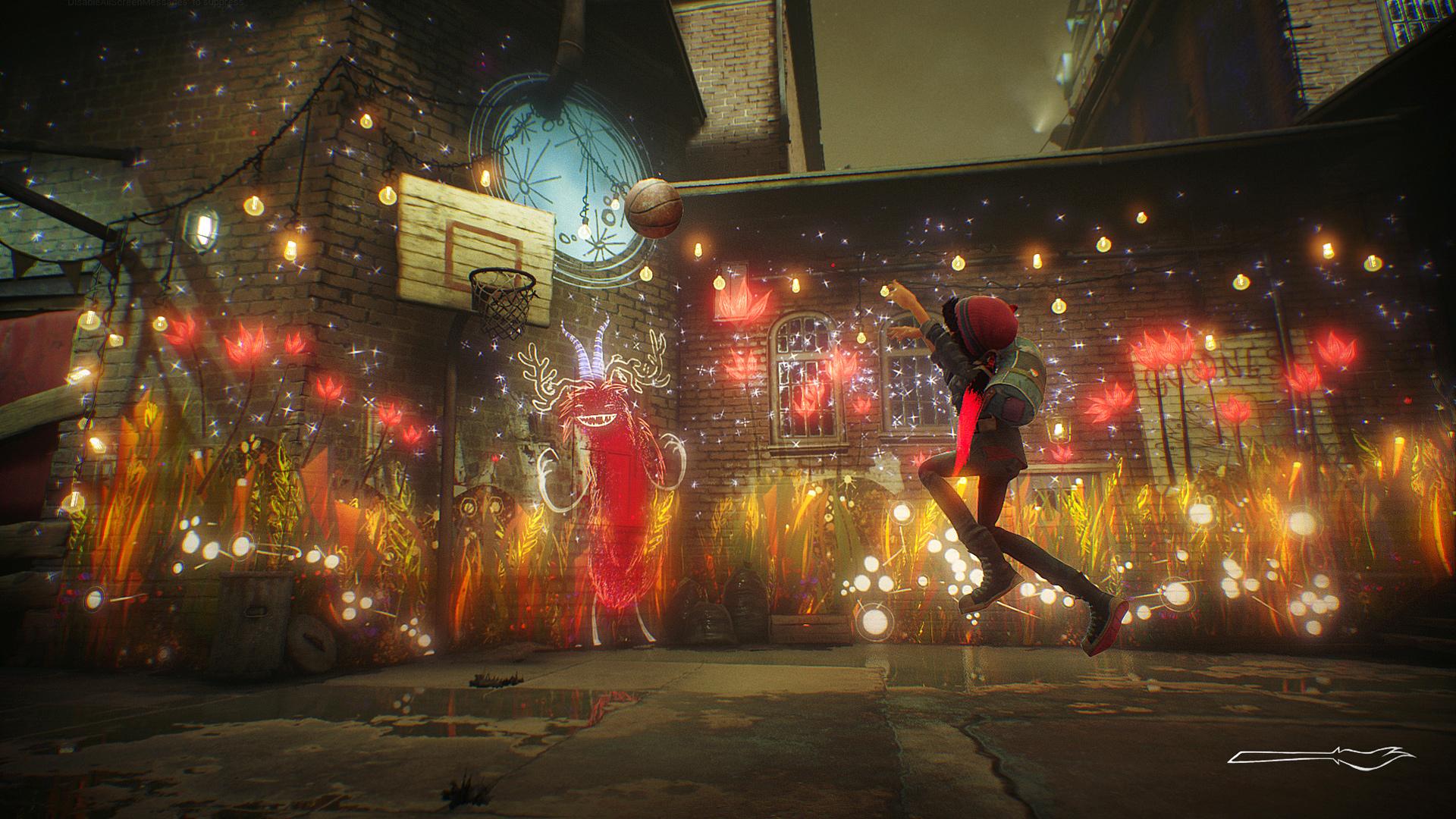 """In """"Concrete Genie"""" zaubert ein junger Künstler lebendige Graffitis an die Level-Wände. Los gesprüht wird kommenden Frühling."""
