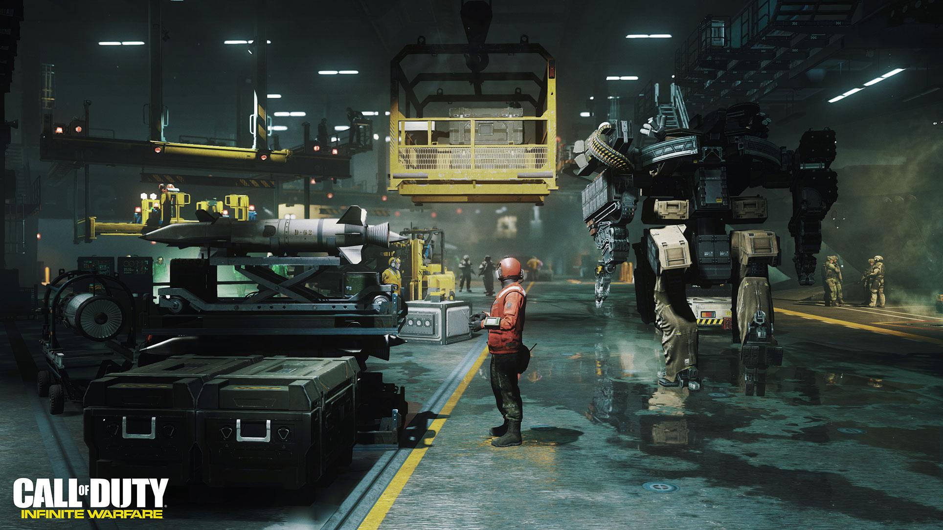 """... entscheidet man sich dafür, die SciFi-Gangart weiter zu verstärken: """"Infinite Warfare"""" ist phasenweise mehr """"Wing Commander"""" als """"Call of Duty"""". Vergleichsweise schwache Verkäufe und negatives Fan-Feedback resultieren schließlich..."""