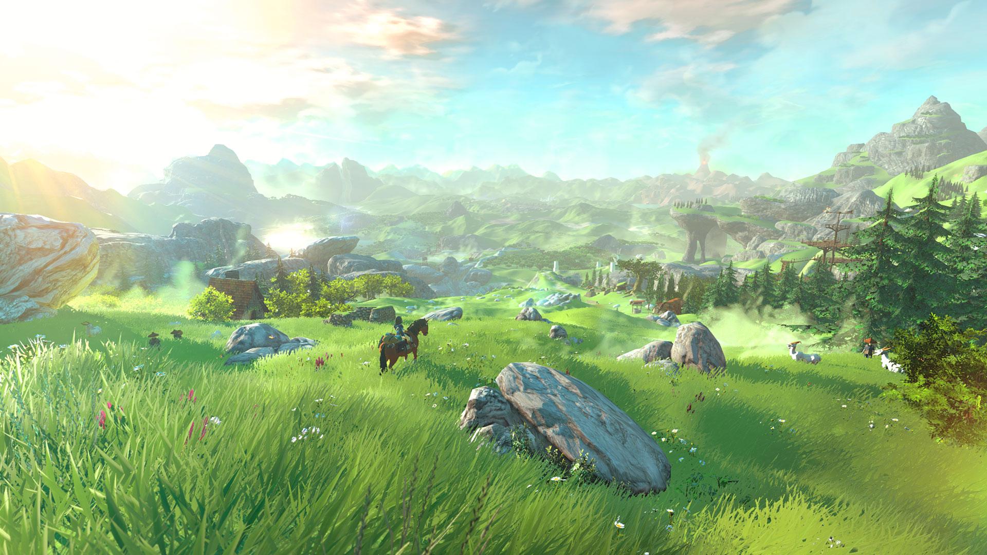 """Soll sich komplett in VR erkunden lassen: das Hyrule aus """"The Legend of Zelda: Breath of the Wild""""."""