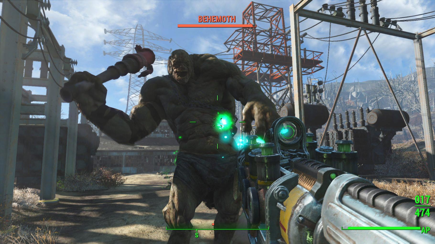 Fallout 4: Auf der E3 überzeugte das After-the-Bomb-RPG mit so vielen Details, futuristischen Crafting-Optionen und einer derart gigantischen Spielwelt, dass dem Publikum für Grafik-Debatten gar nicht mehr genug Atem blieb. Fantastisch.