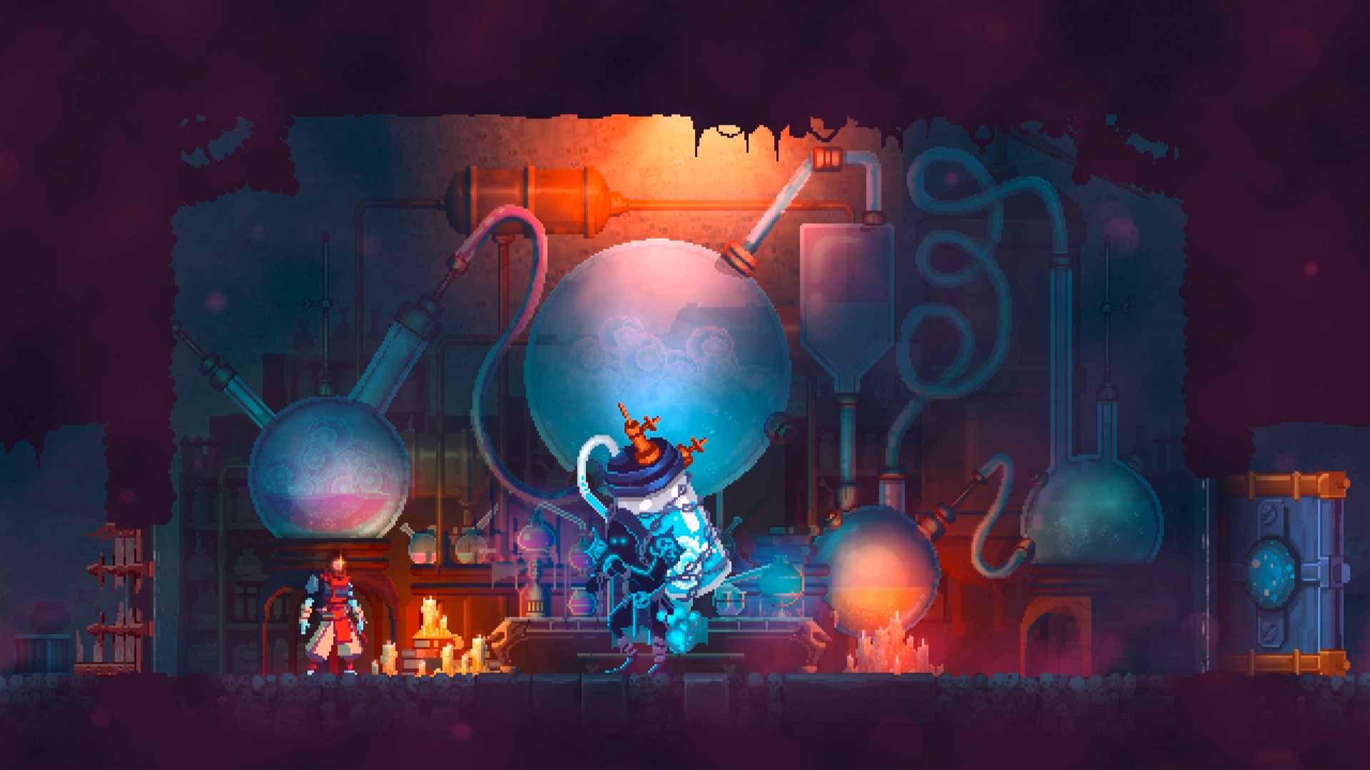 "Knallharte Action mit ""Metroidvania""-Note: ""Dead Cells"" von Motion Twin wurde ""bestes Action-Game""."