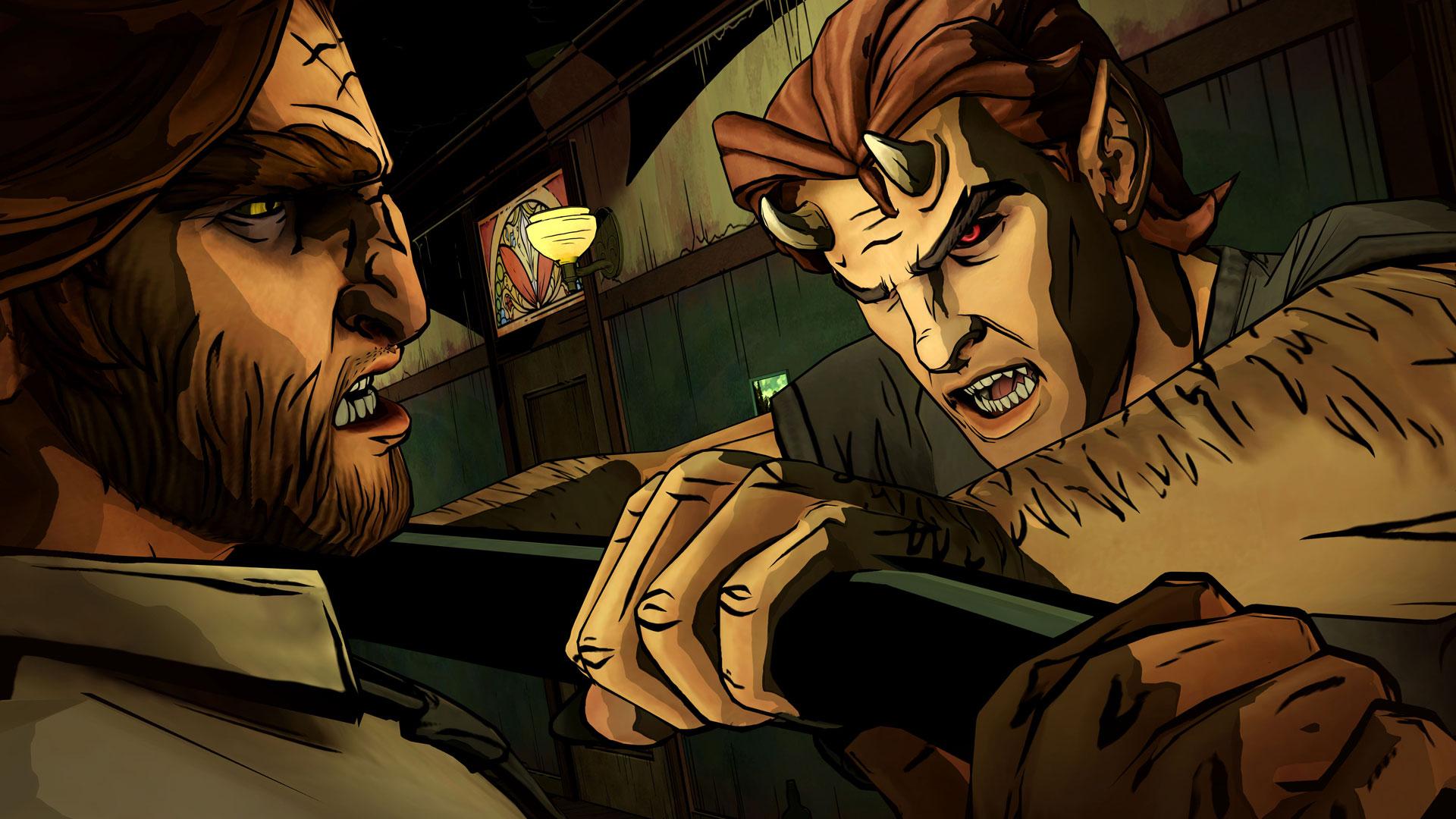 """Das nächste Serien-Projekt nach dem """"Walking Dead""""-Erfolg war eine Umsetzung der """"Wolf Among Us""""-Comics und verkaufte sich nur mäßig. Trotzdem kündigte man unlängst eine stark verspätete zweite Staffel an, die jetzt nie erscheinen wird."""