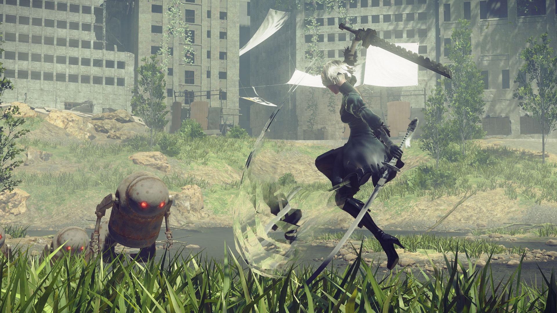 """Ein überraschender Sieger: """"Nier: Automata"""" von Square Enix gewann in der Rollenspiel-Kategorie."""