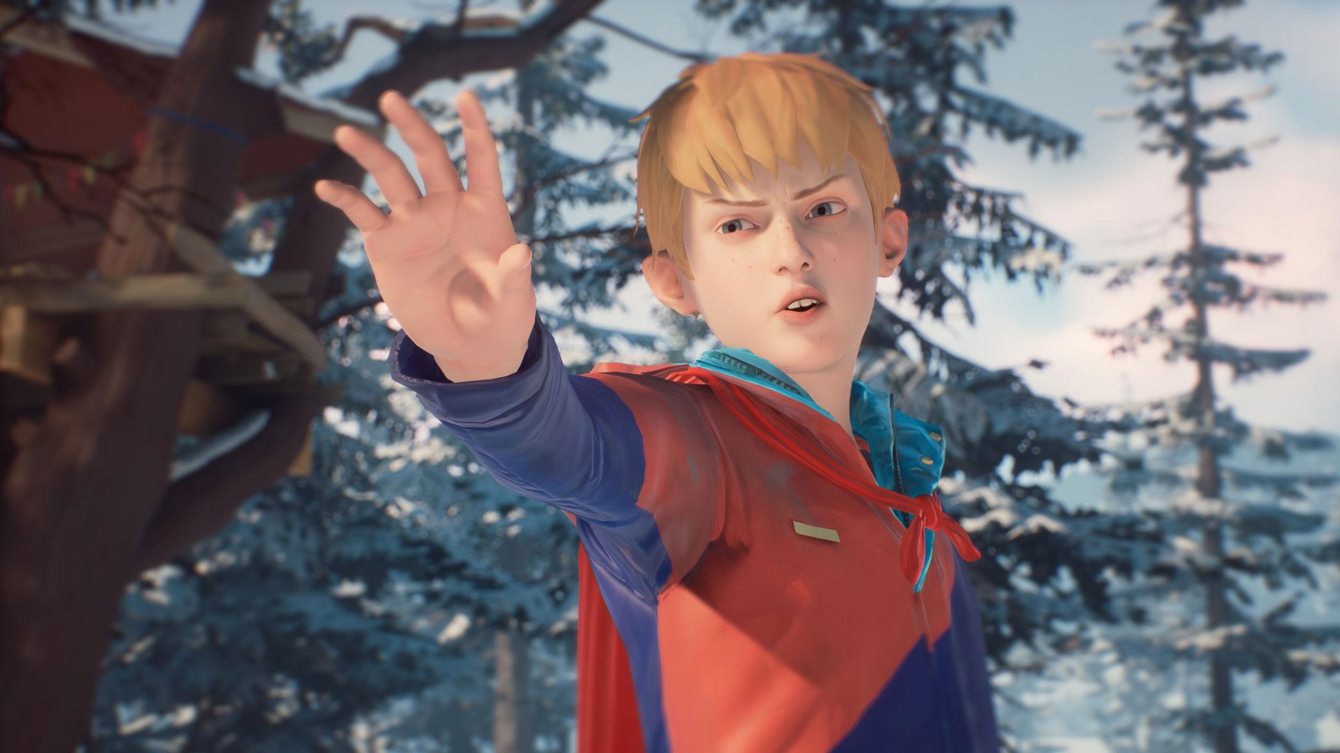 """Soll eine narrative Brücke zwischen der ersten und der zweite """"Life is Strange""""-Staffel schlagen und steht schon jetzt für PC, PS4 sowie Xbox One zum Download bereit: die kostenlose Bonus-Episode """"Die fantastischen Abenteuer von Captain Spirit""""."""