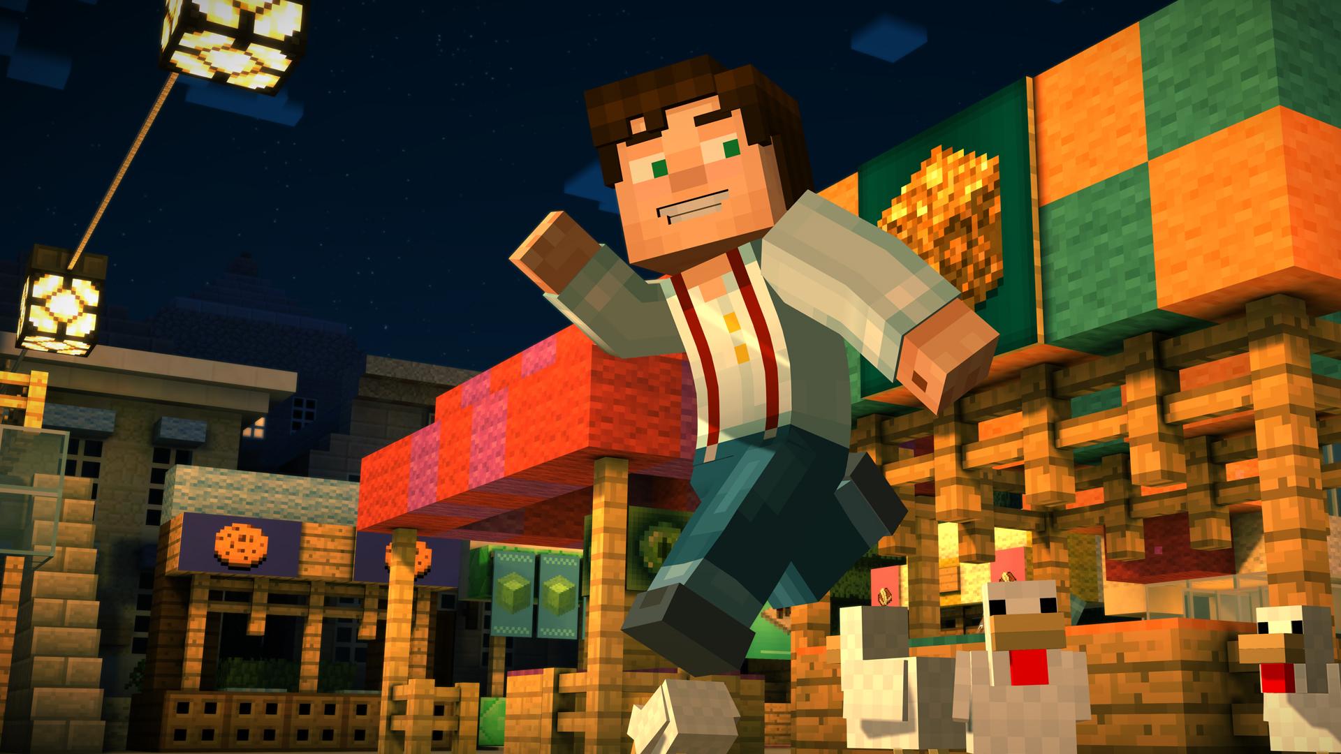 """Noch eine Zusammenarbeit mit Netflix: Telltales """"Story Mode"""" nach Mojangs """"Minecraft"""" wird derzeit in eine Animationsserie für den Streaming-Sender verwandelt."""