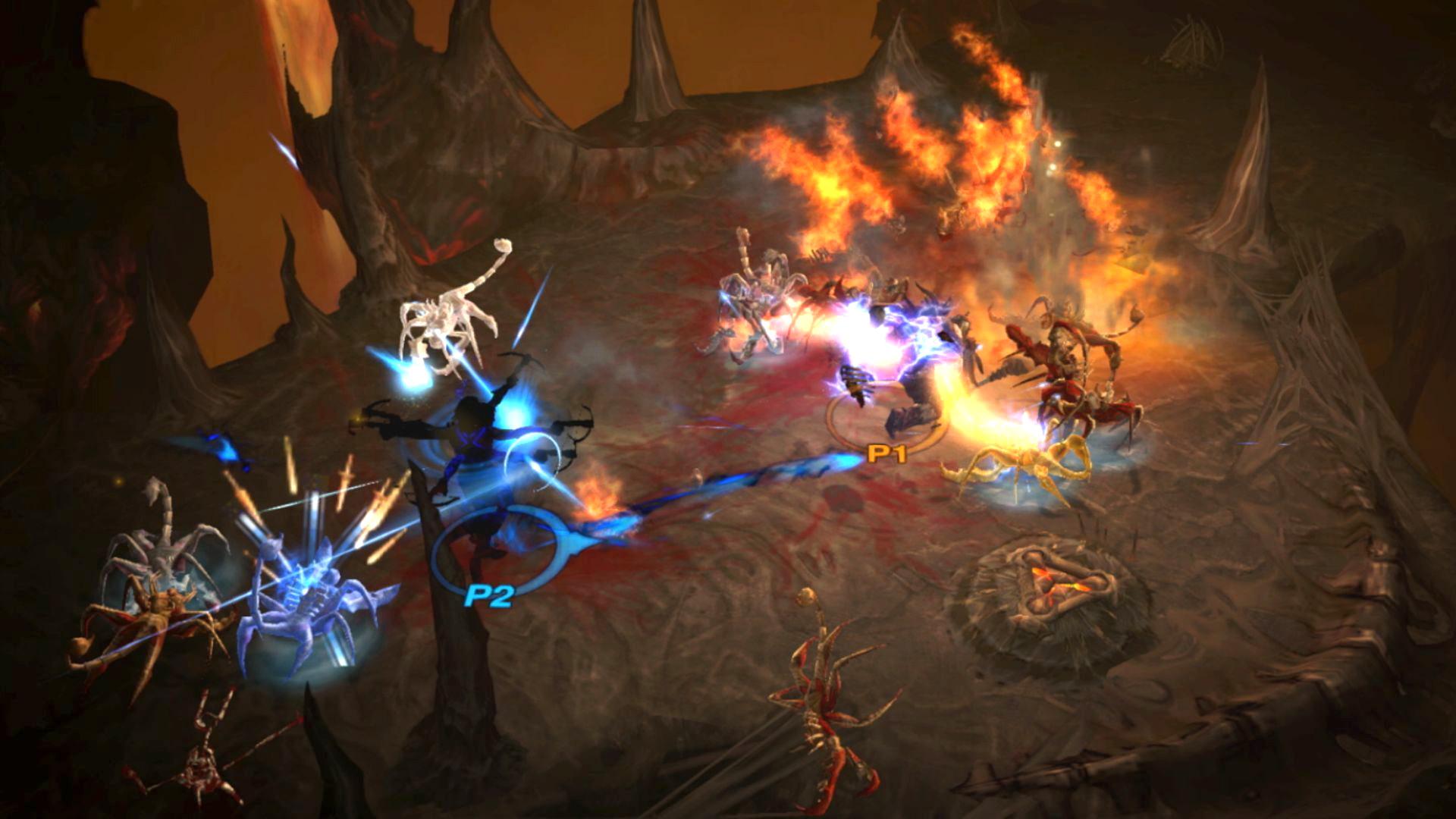 """Im TV-Betrieb läuft """"Diablo 3"""" flüssig mit 60 Einzelbildern pro Sekunde und bei Full-HD-Auflösung. Als Handheld-Spiel schafft es nur knapp 30 """"FPS"""""""