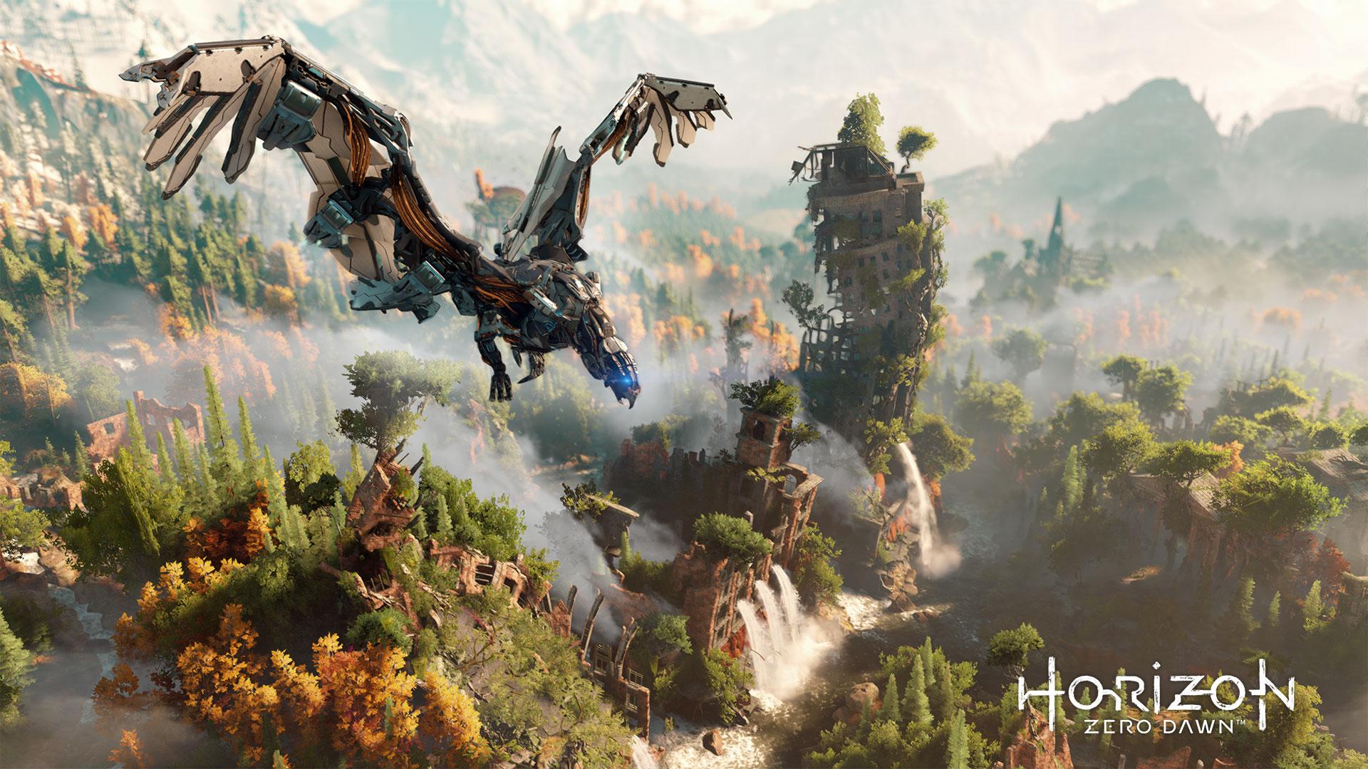 """Beste internationale Spielwelt: """"Horizon: Zero Dawn"""""""