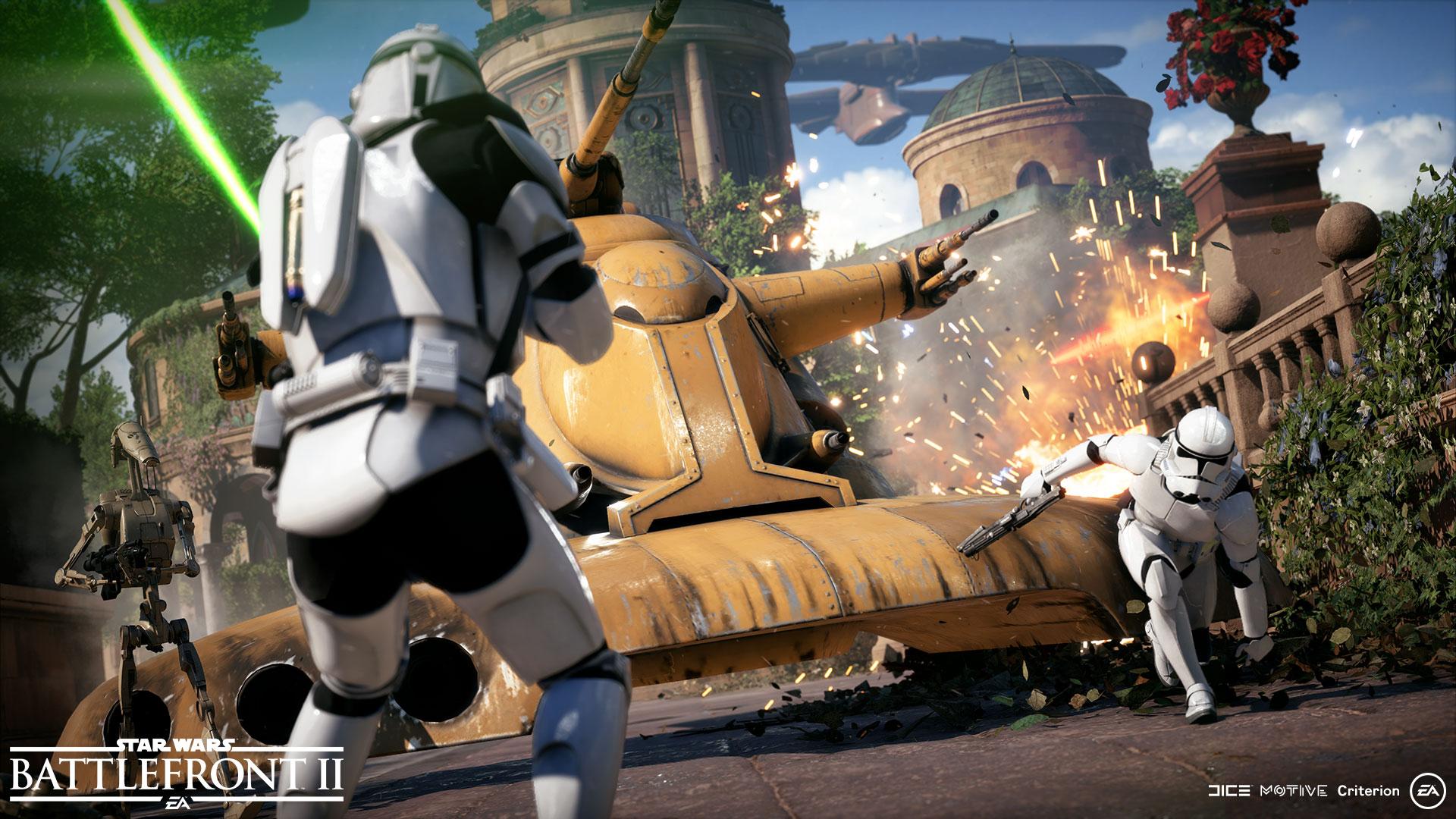 """Das war wohl nix: Mit """"Battlefront 2"""" hat Electronic Arts sein persönliches """"Star Wars""""-Waterloo erlebt. Seitdem ist das Vertrauen von Disney beziehungsweise Lucasfilm in den Hersteller geschwächt."""