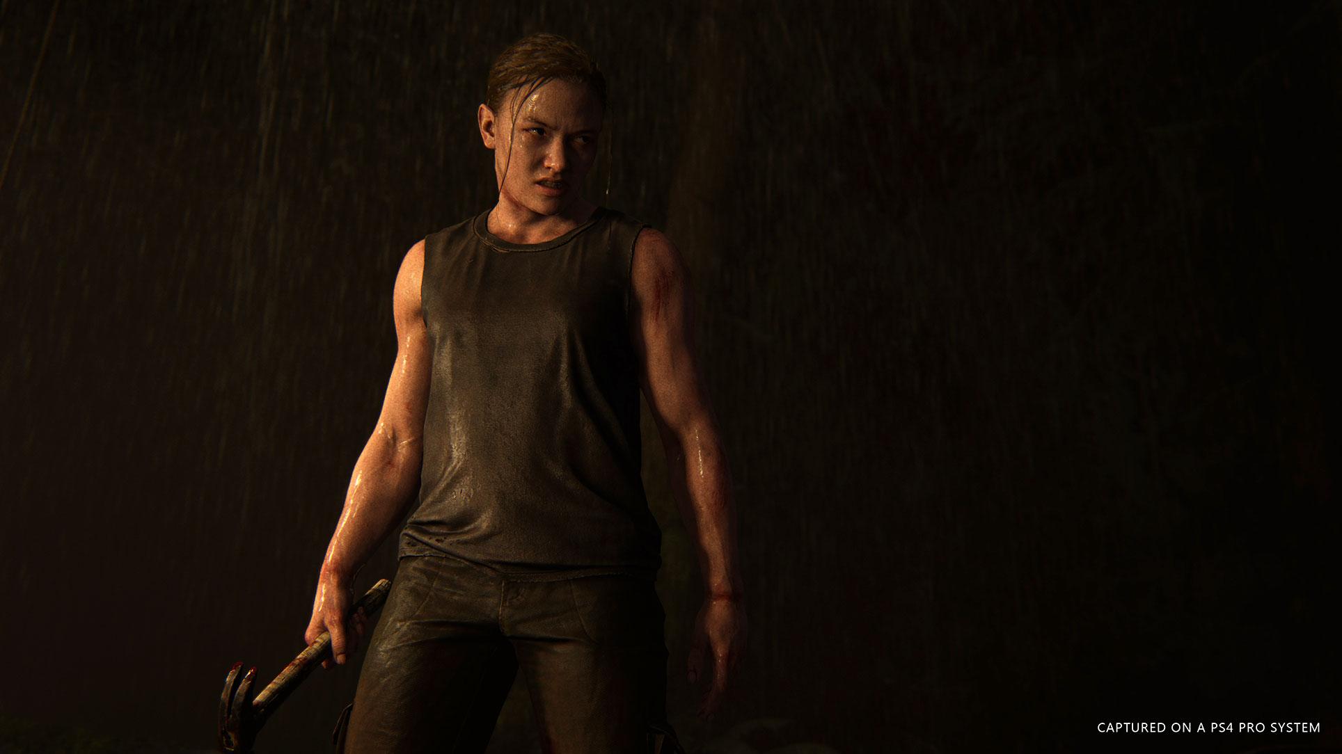 """Ellie, bist Du das? Ein neuer """"Last of Us 2""""-Trailer zeigt die ältere Heldin mit deutlich mehr Muskelmasse."""