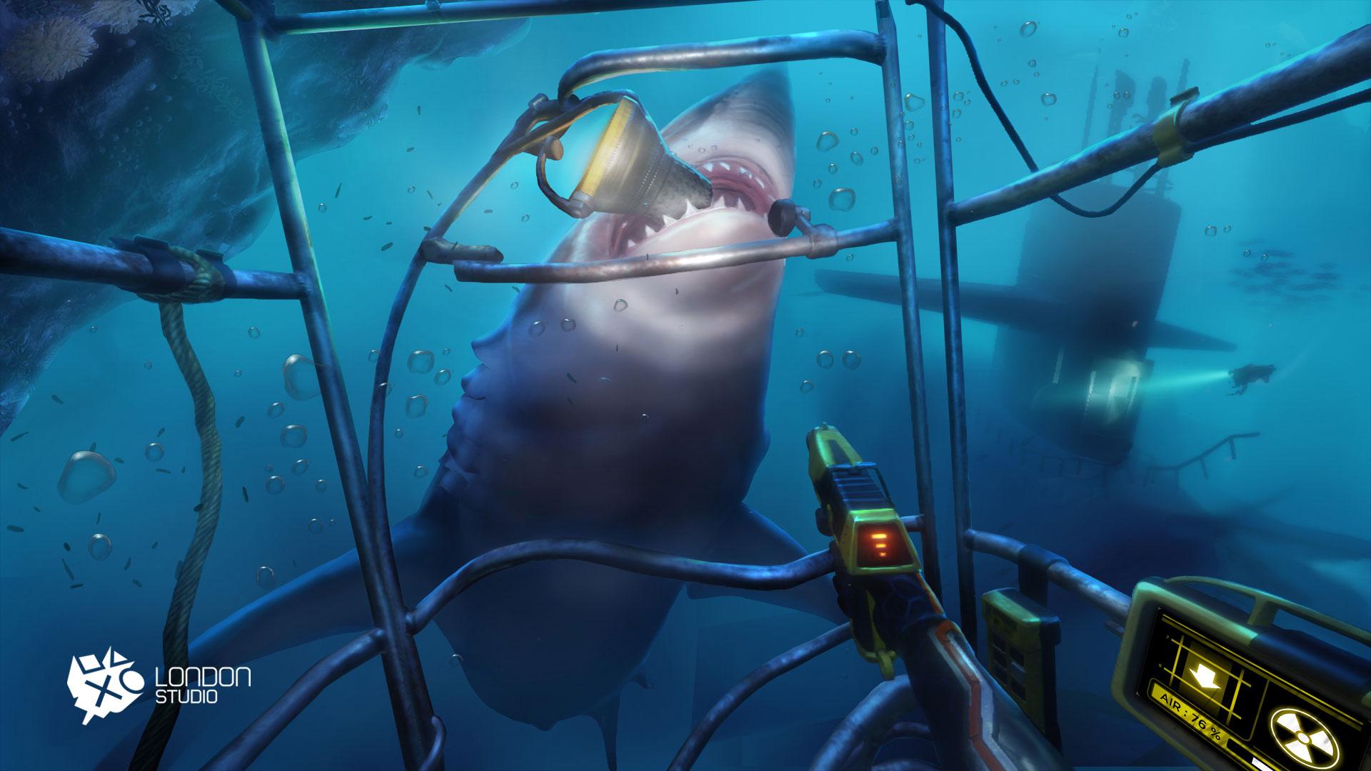 """Kurzer, aber intensiver Unterwasser-Trip aus der Spiele-Sammlung """"PlayStation VR Worlds: """"The Descent"""""""