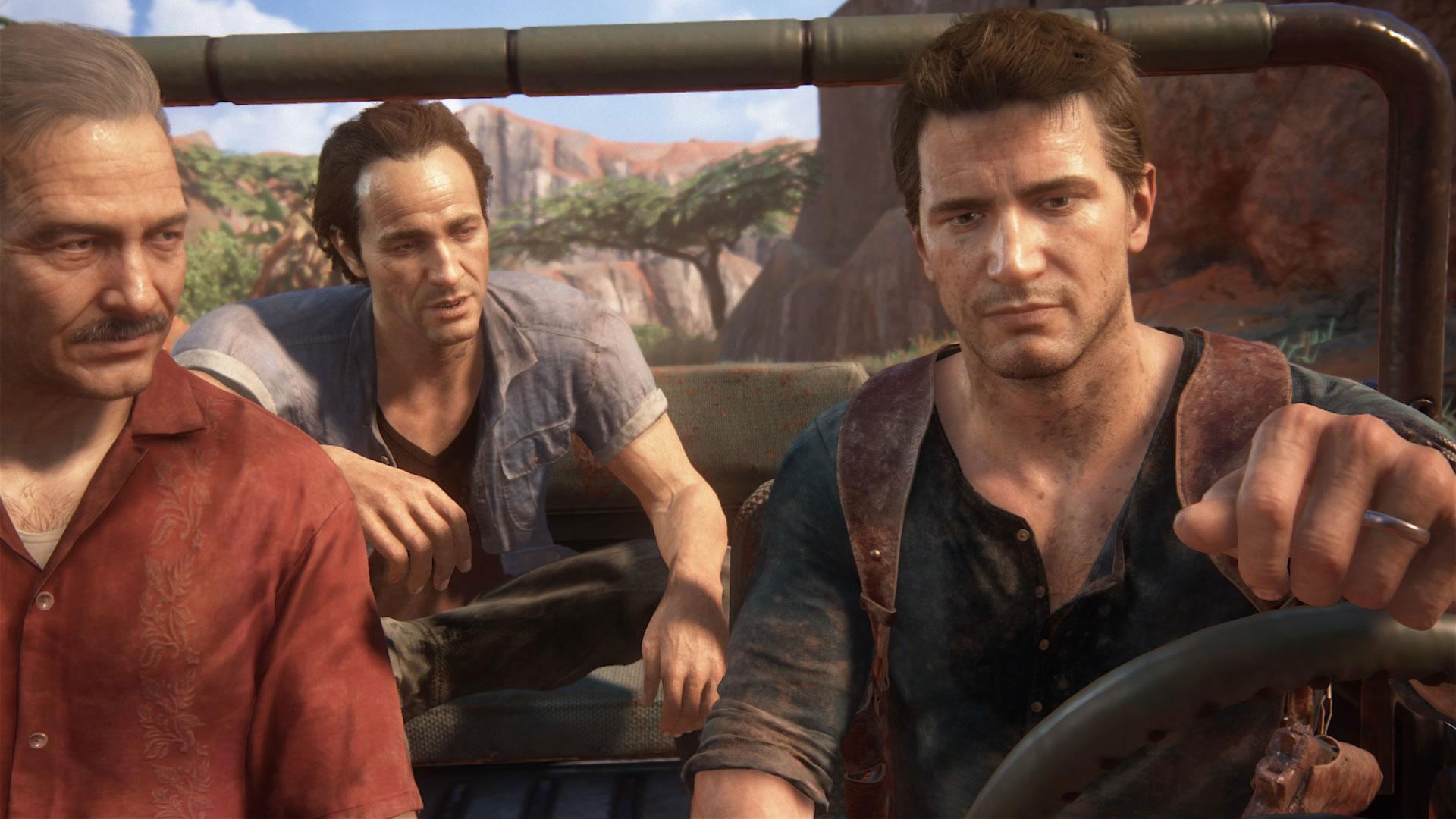 """Eigentlich hat """"Uncharted""""-Held Nathan Drake gar keinen Grund, so verdrießlich dreinzuschauen, denn seinen Schöpfer bei Naughty Dog zufolge..."""