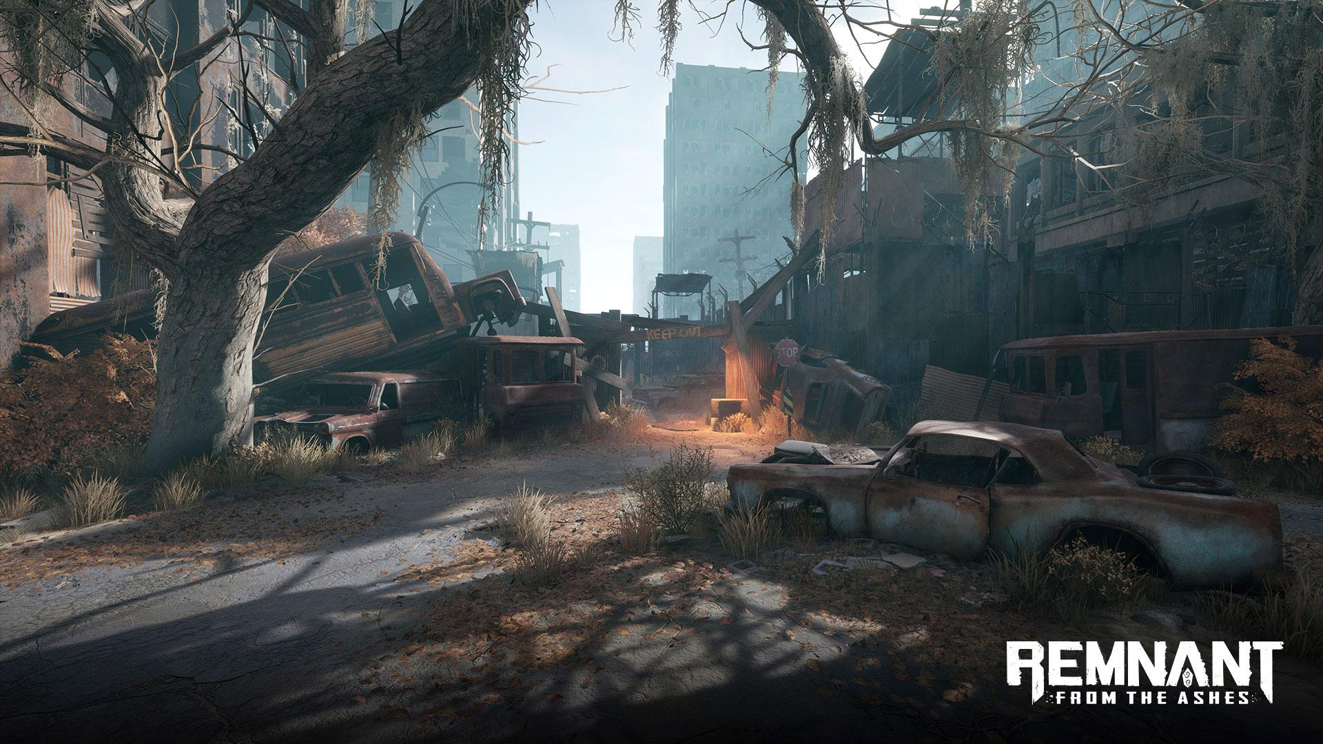 Für die postapokalyptische Spielwelt verspricht Entwickler Gunfire Games eine dynamische Umgebung, die sich abhängig von der Einflussnahme der Spieler immer wieder verändert.