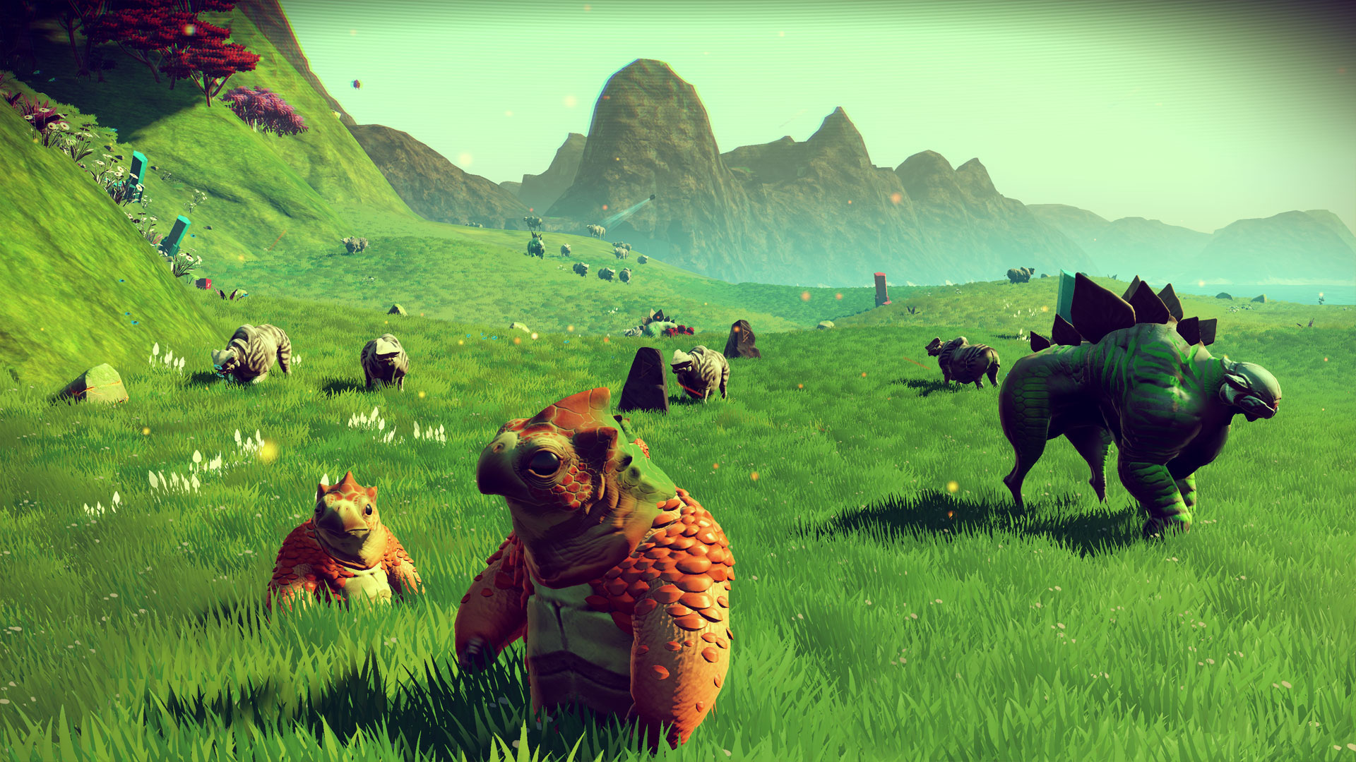 "Entstand wie so viele Hits der letzten Jahre in England: Das gigantische Adventure-All aus ""No Man's Sky"" vom in Guildford ansässigen Independent-Studio Hello Games."