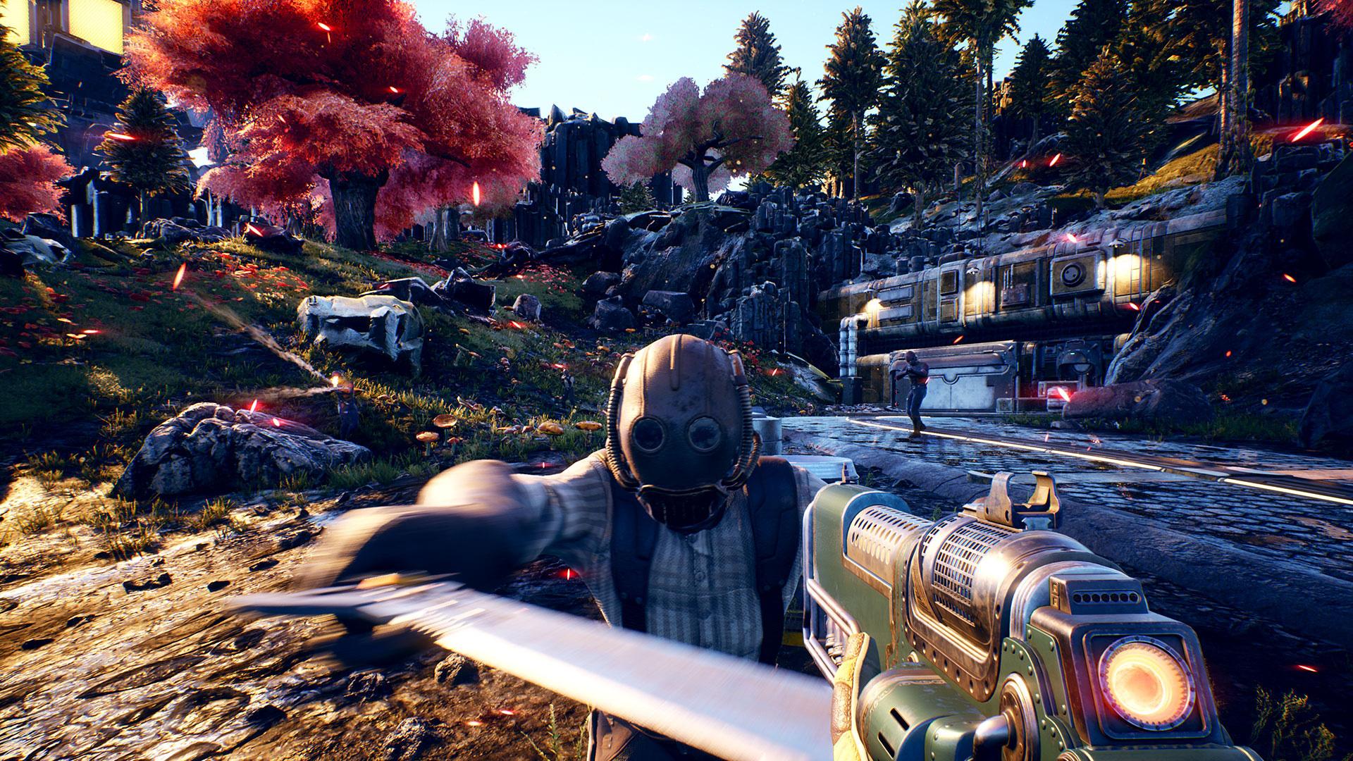 """""""The Outer Worlds"""": Das neue Rollenspiel von Obsidian erinnert an die """"Fallout""""-Serie. Kein Wunder: Mit Titeln wie """"New Vegas"""" ist das inzwischen zu Microsoft gehörende Studio in der """"Fallout""""-Reihe verwurzelt."""