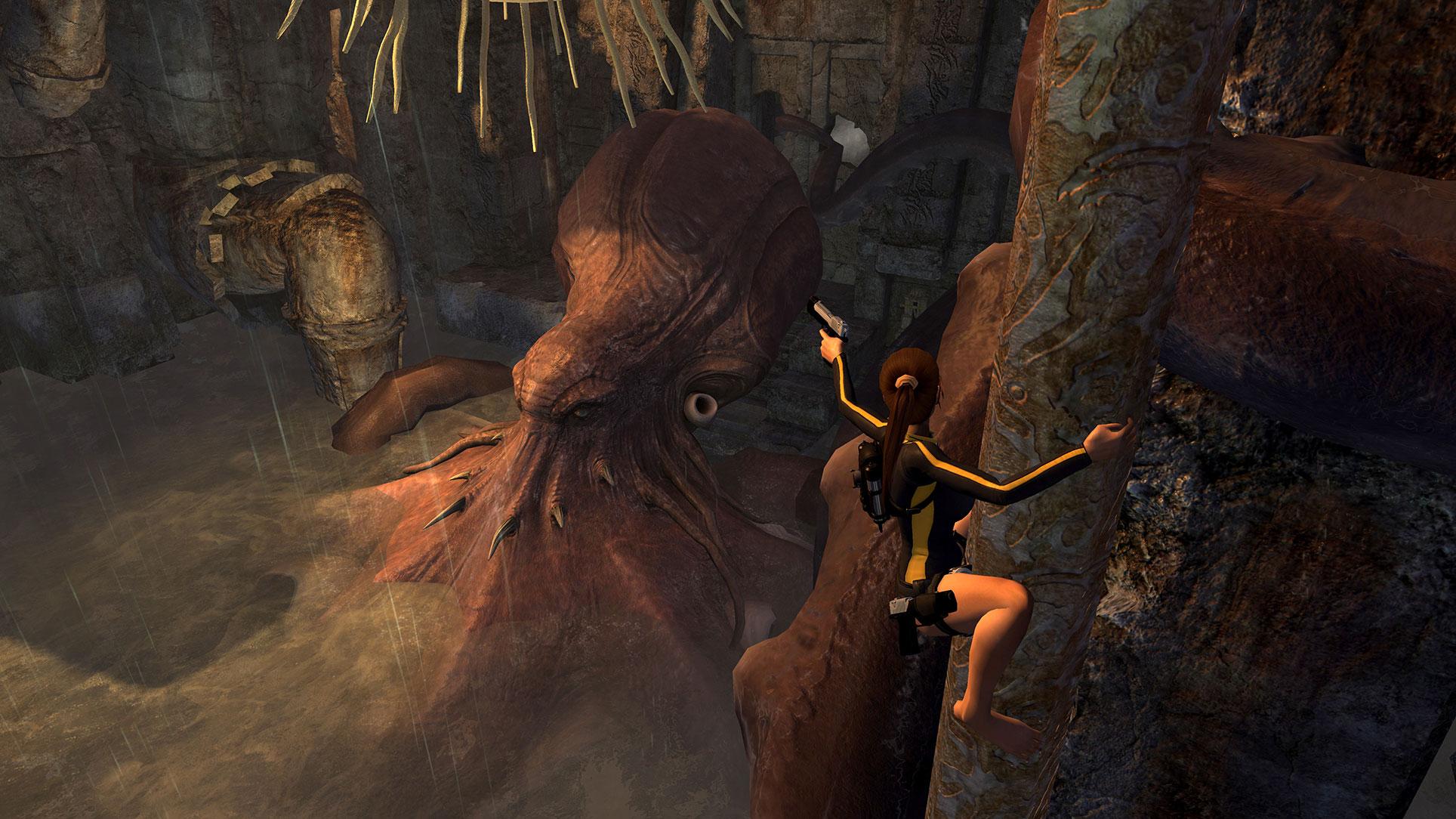 """Das dritte Lara-Croft-Abenteuer von Crystal Dynamics: """"Tomb Raider Underworld"""" von 2008. Wer die Archäologin begleiten will, muss sich allerdings beeilen: Nach dem 15. Januar verschwindet Lara wieder von der Gold-Agenda."""