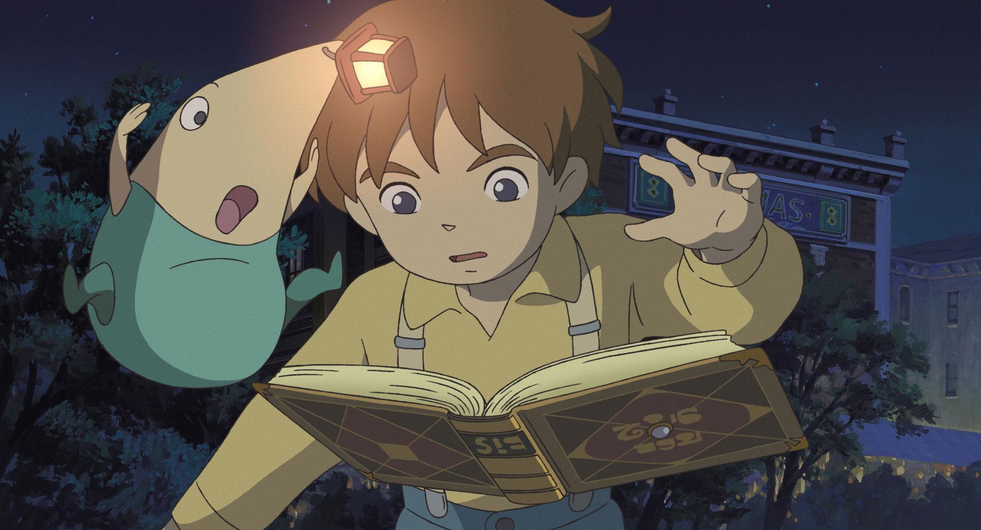 """Ghiblis """"Ni No Kuni""""-Film könnte aussehen wie die Sequenzen aus dem Spiel - auch die wurden schon von der Trickfilm-Schmiede produziert."""