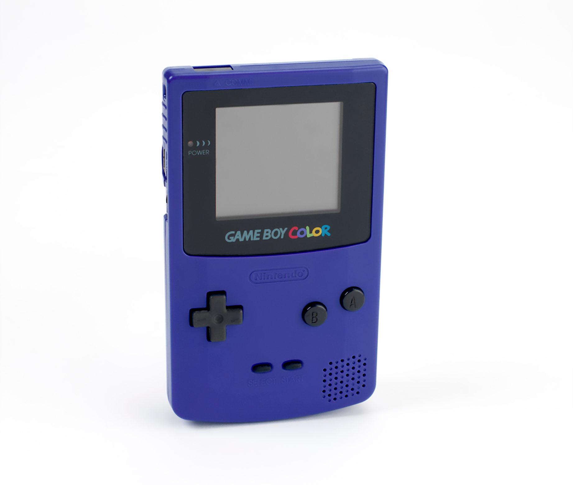 Und es wurde Farbe: Der Game Boy Color kann endlich Bunt.