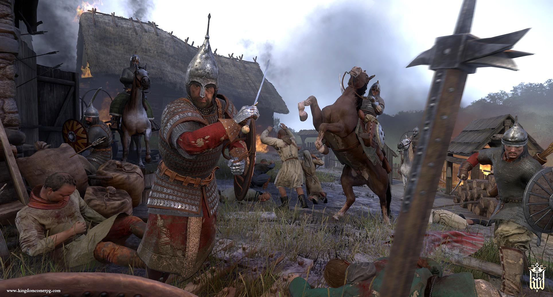 """Wird dank """"Hardcore""""-Modus bald noch knackiger: das tschechische Mittelalter-Rollenspiel """"Kingdom Come: Deliverance""""."""