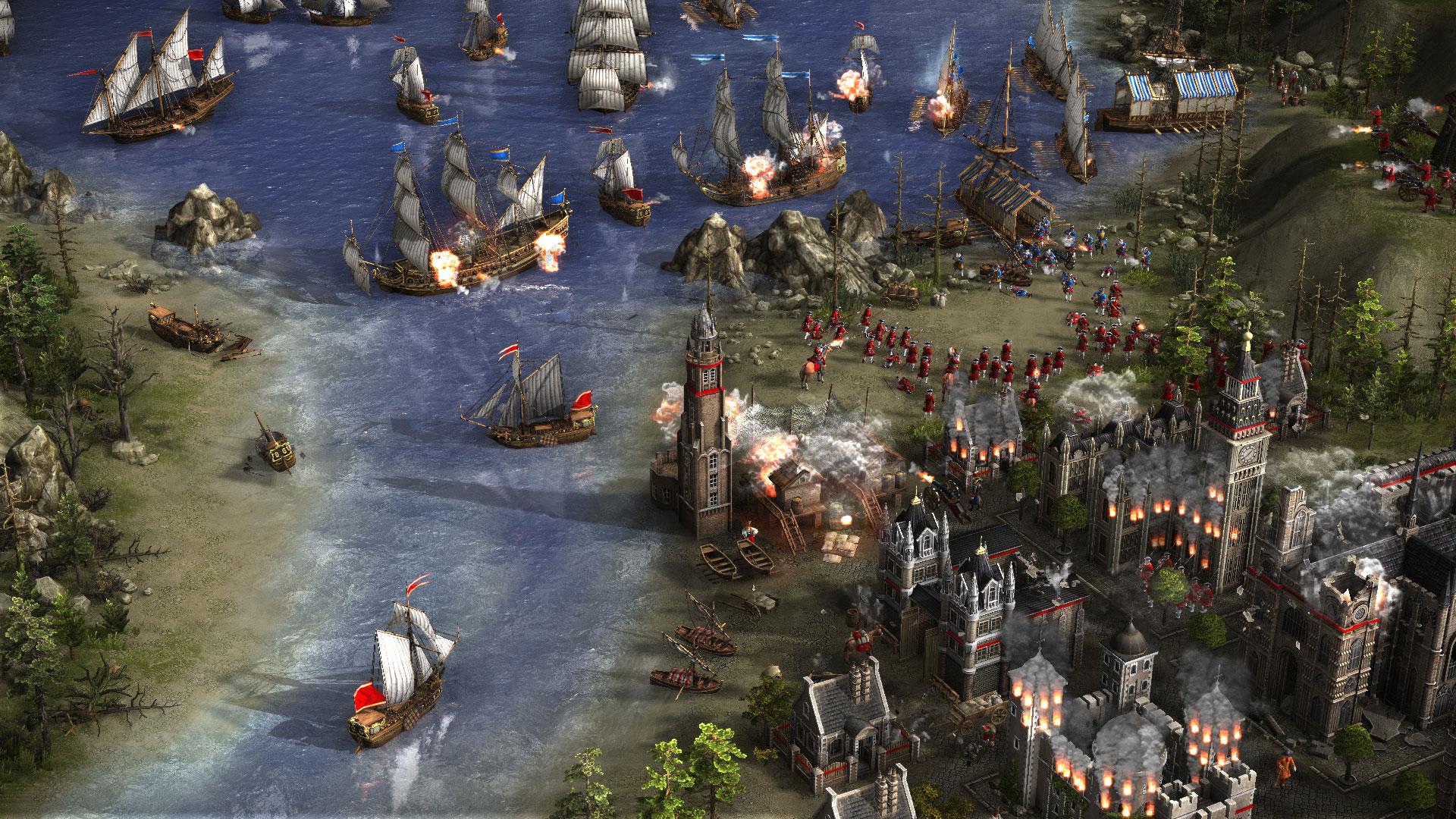 """Mit """"Cossacks 3"""" bringt Original-Entwickler GSC Gameworld ein Remake seines Echtzeit-Strategie-Erfolgs von 2001. Einmal mehr geht's ins Schlachten-gebeutelte Europa des 17. und 18. Jahrhunderts – mit zwölf Nationen und 70 Einheiten • ab 20.09. für PC"""