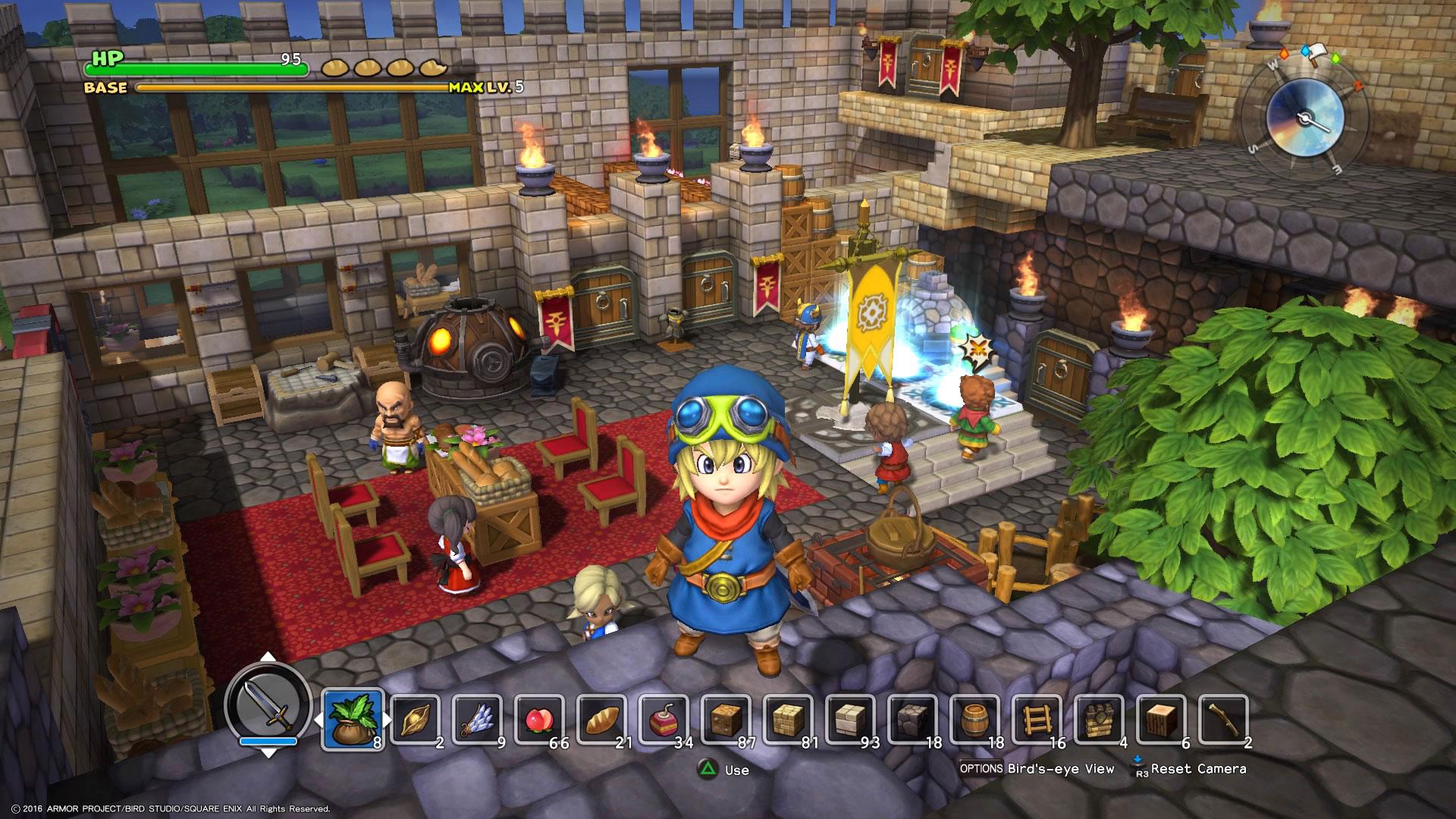 """RPG-Fans mit Aufbau- und Kreativ-Ambitionen freuen sich auf Square Enix' putzige """"Dragon Quest World Builders"""". (11.10. für PS4, PS Vita)"""