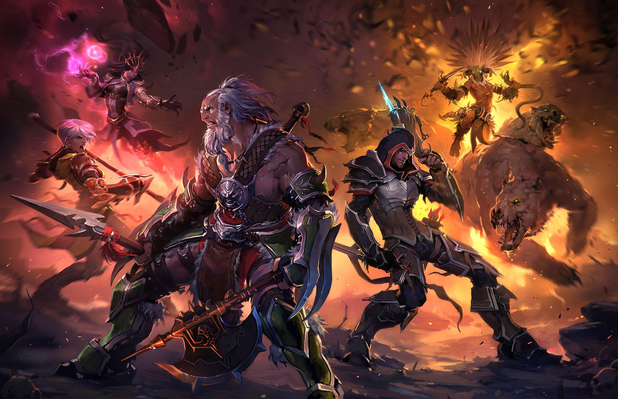 """Wird laut Gerüchteküche bald in eine Anime-Serie auf Netflix verwandelt: Blizzards erfolgreiche Action-RPG-Reihe """"Diablo""""."""