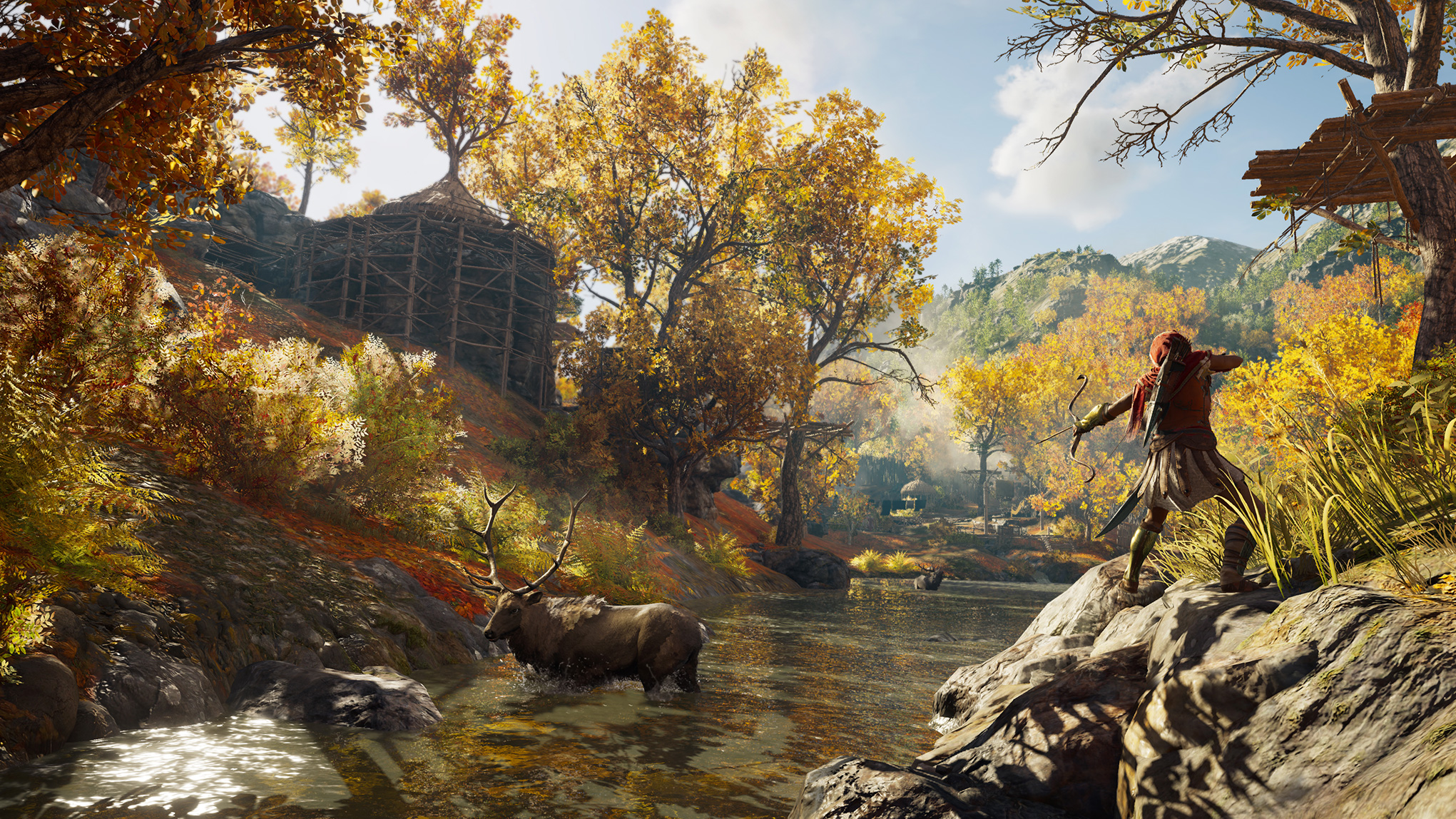 """In """"Odyssey"""" erlebt der Spieler die bisher idyllischste Natur der """"Assassin's Creed""""-Reihe."""