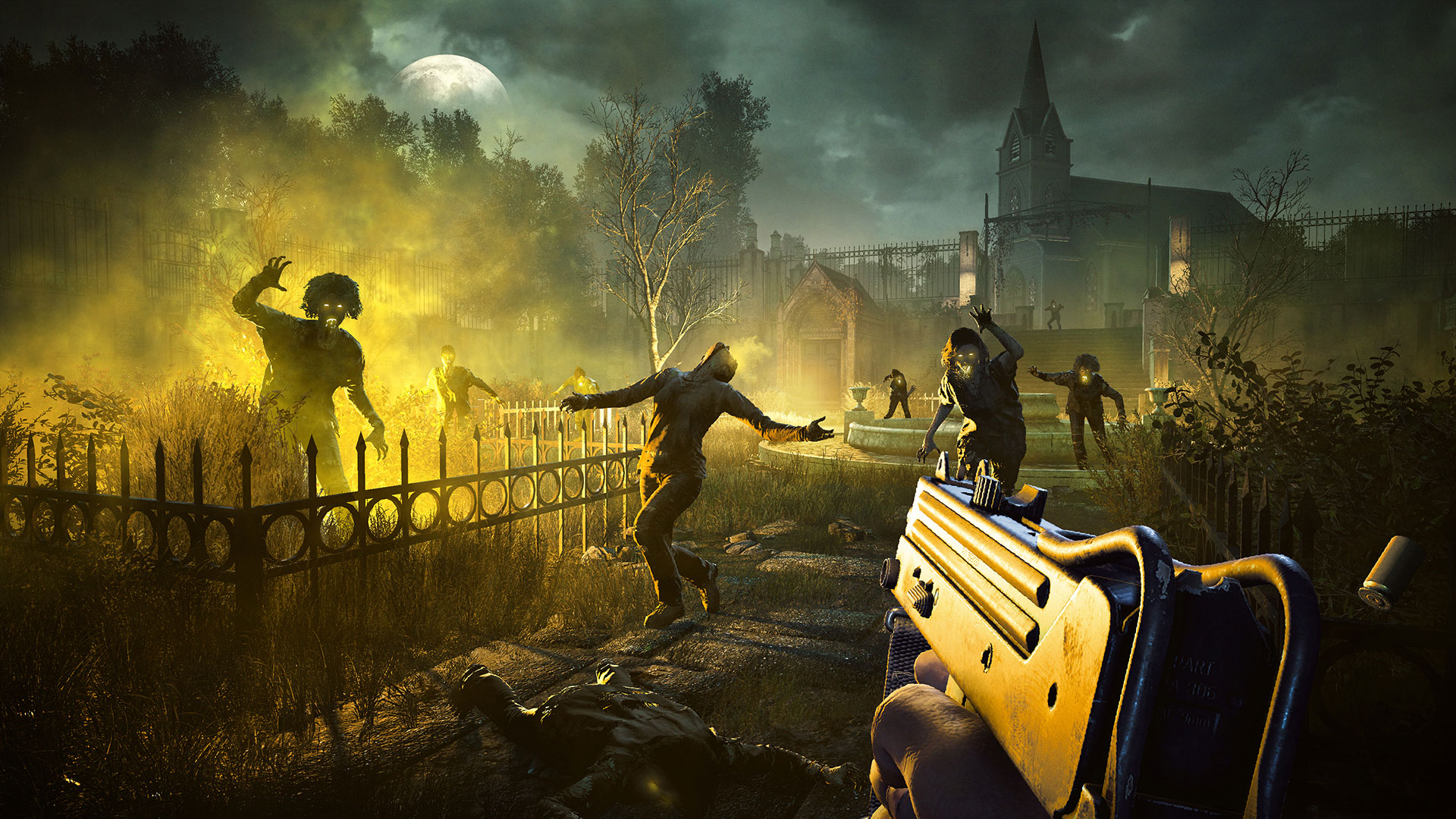 """Welle für Welle: Horden-mäßige Zombie-Jagd an der Seite anderer """"Far Cry 5""""-Spieler gibt's als Bestandteil des Season-Passes."""
