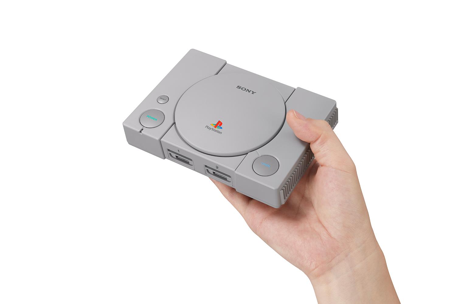 """Kommt mit 20 vorinstallierten Spiele-Oldies: die für Dezember angekündigte """"PlayStation Classic"""". Unter den Games finden sich wegweisende Retro-Titel wie..."""