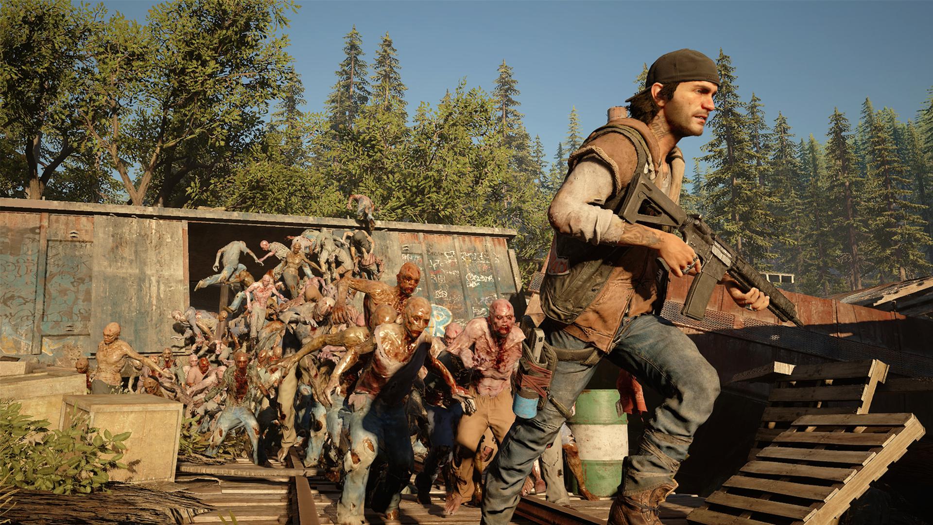 """Wurde von Februar auf April 2019 verschoben: die Biker und Untoten aus Sonys PS4-exklusivem """"Days Gone""""."""