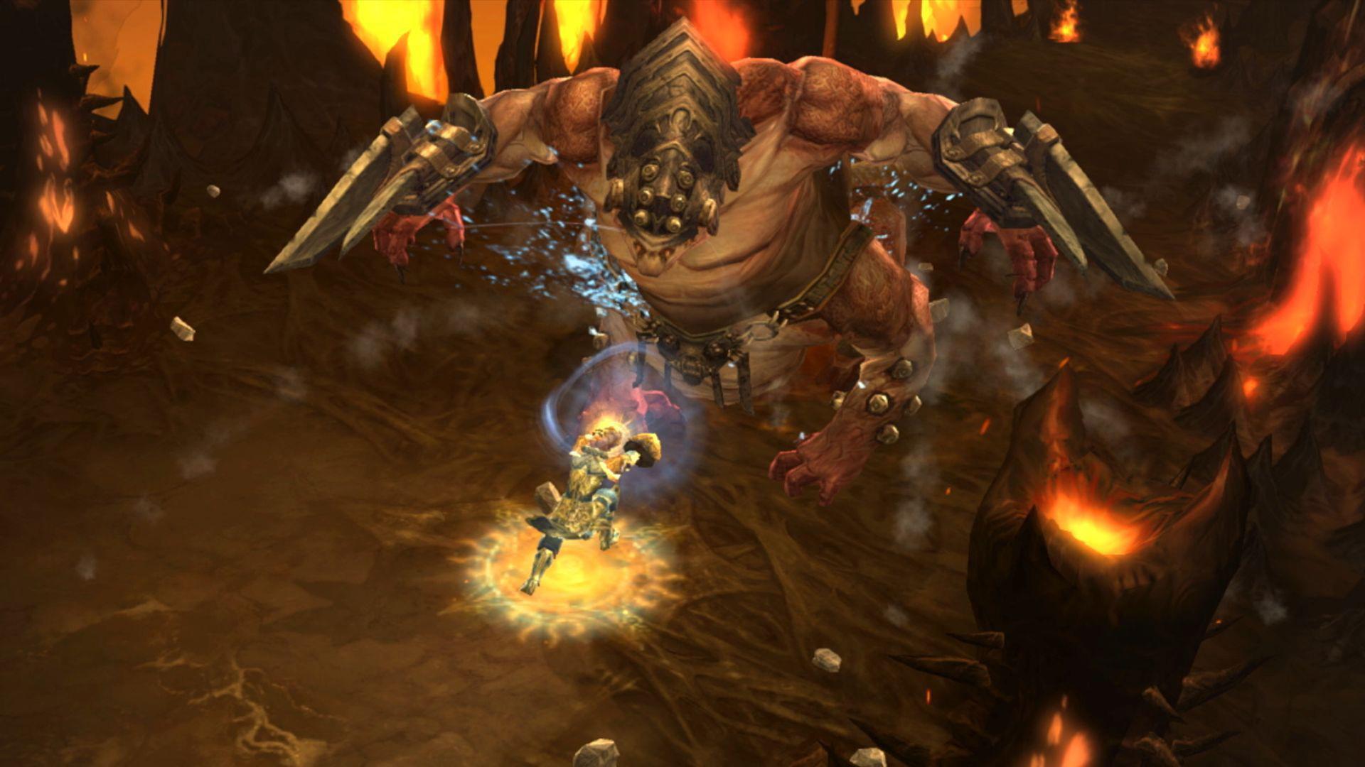 Wie auf PC, PS4 und Xbox One bitten auch auf der Switch kolossale Boss-Brocken zum Echtzeit-Kampf. Wem das Scharmützel alleine zu hart wird, der...