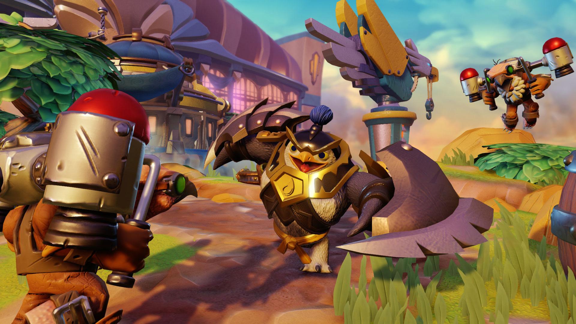 """Neue Helden heißt bei """"Skylanders"""" auch immer """"jede Menge neue Action-Figuren"""": Mit """"Imaginators"""" geht Activisions Kombi aus Spiel und Spielzeug in die sechste Runde. (14.10. für PS4, PS3, Xbox One, Xbox 360, WiiU)"""