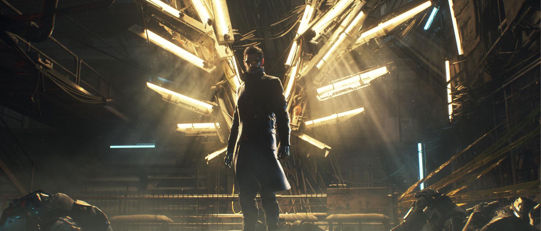 """Deus Ex –Mankind Divided: Cyber-Agent Adam Jensen meldet sich wieder zurück: Mit """"Mankind Divided"""" knüpft man direkt an die Story aus """"Human Revolutin"""" an, weltweite Verschwörungen und jede Menge neue Cyber-""""Augmentierungen"""" inklusive."""