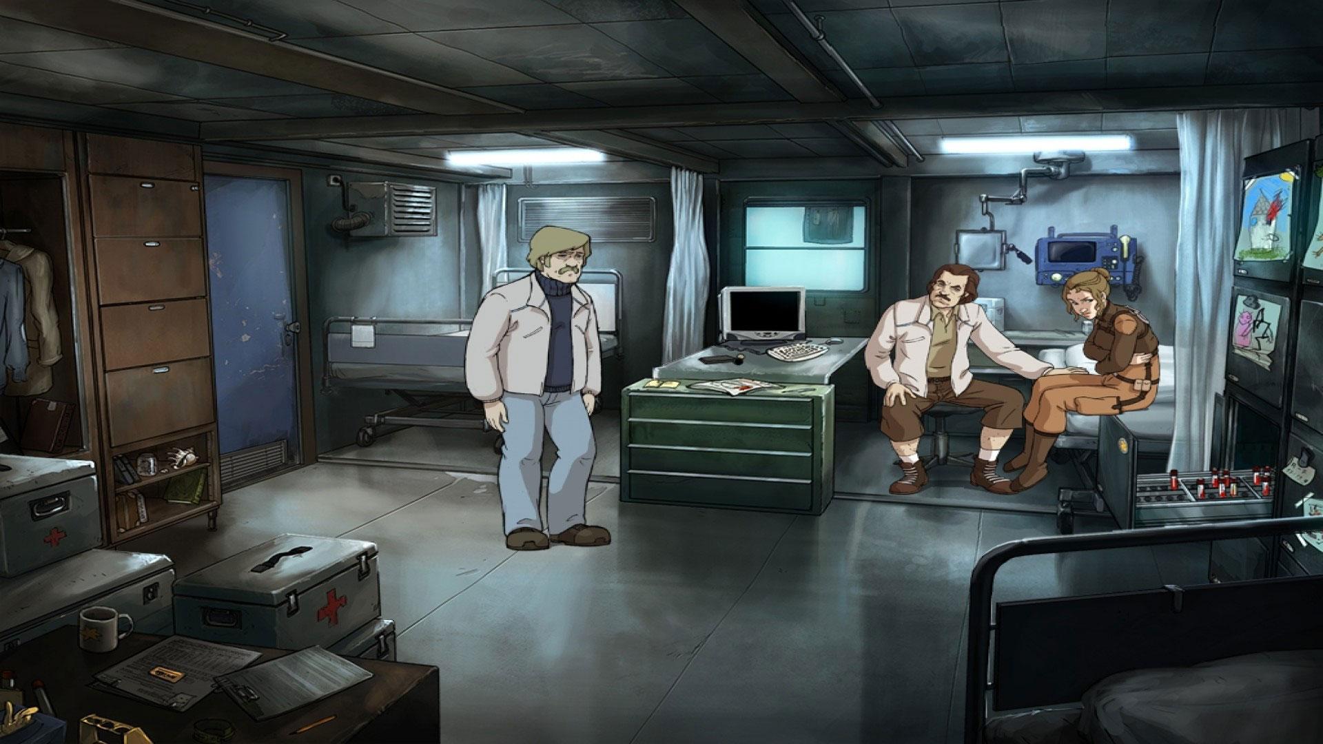 """Das Science-Fiction-Adventure """"A New Beginning"""" sollte ursprünglich das erste Spiel von Daedalic werden, erschien aber erst 2010 - zwei Jahren nach dem Debüt-Titel """"Edna bricht aus"""". Auch hier war Poki federführend."""