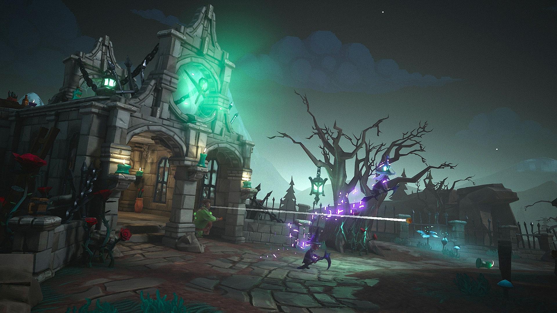 """Streitet sich mit """"The Long Journey"""" und """"Inner World 2"""" um den Preis für das beste deutsche Spiel: Das magische Fangen- und Versteck-Game """"Witch it""""."""