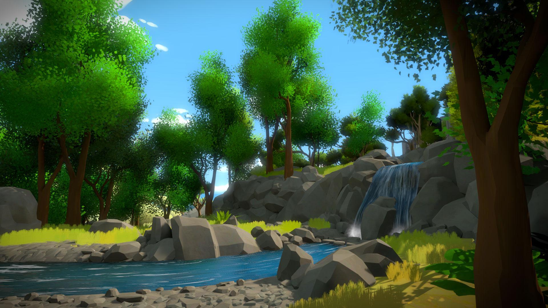 """Der neue Intelligenztest von Independent-Star und Rätsel-Folterknecht Jonathan Blow jetzt auch für Xbox One: Die einsame Knobel-Idylle von """"The Witness"""" lädt zum fröhlichen Gehirn-Martyrium und zur Open-World-Version von """"Myst"""" • ab 13.09. für Xbox One"""