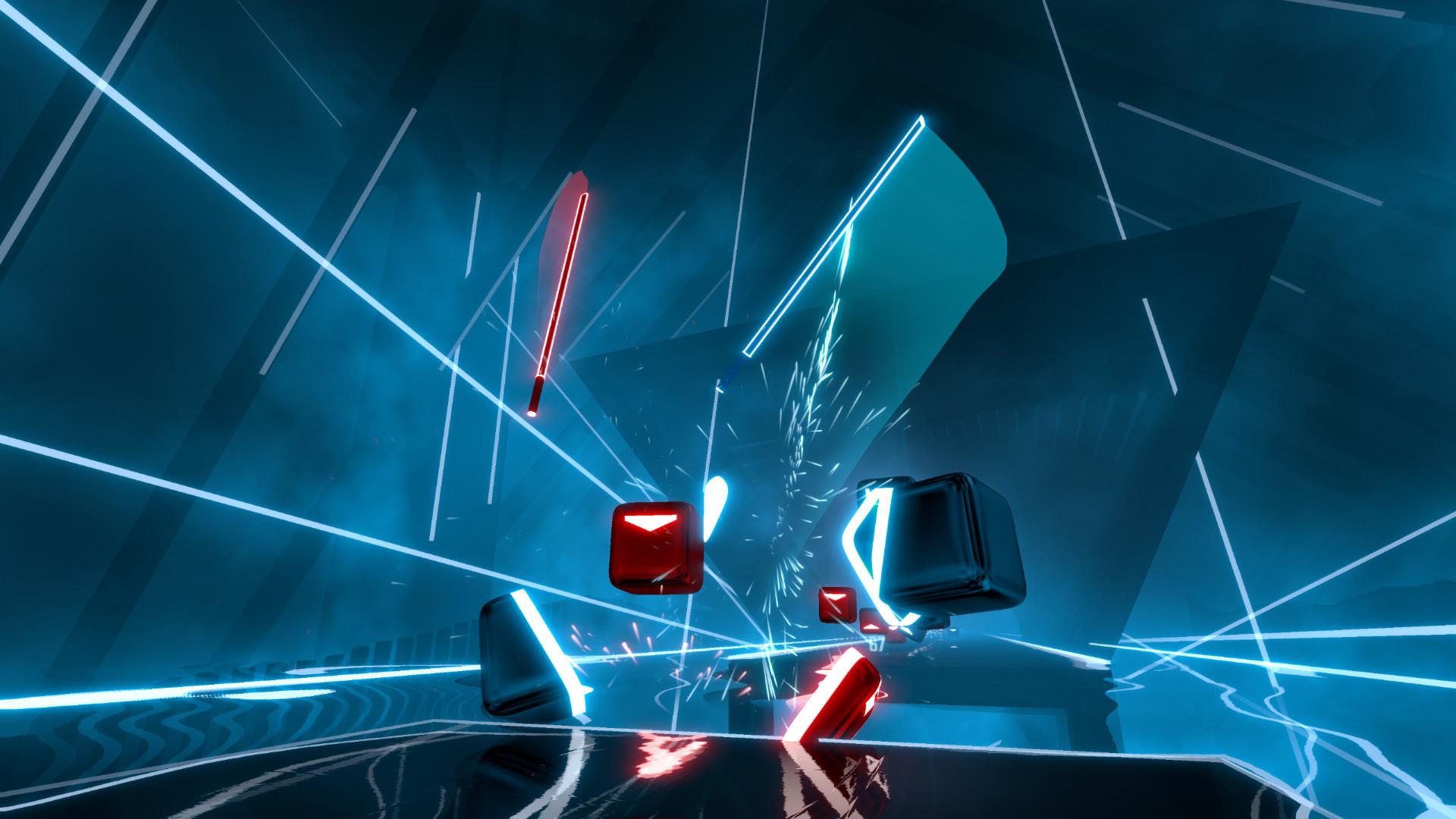 Bestes VR/AR-Spiel: Beat Saber