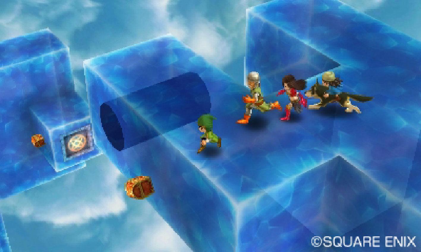 """16 Jahre nach seinem PSone-Debüt feiert Square Enix' RPG-Klassiker  """"Dragon Quest 7"""" sein 3DS-Comeback: Für Serien-Fans ist die visuell liebevoll überarbeitete Version ein echter Pflichtkauf • ab 16.09. für 3DS"""