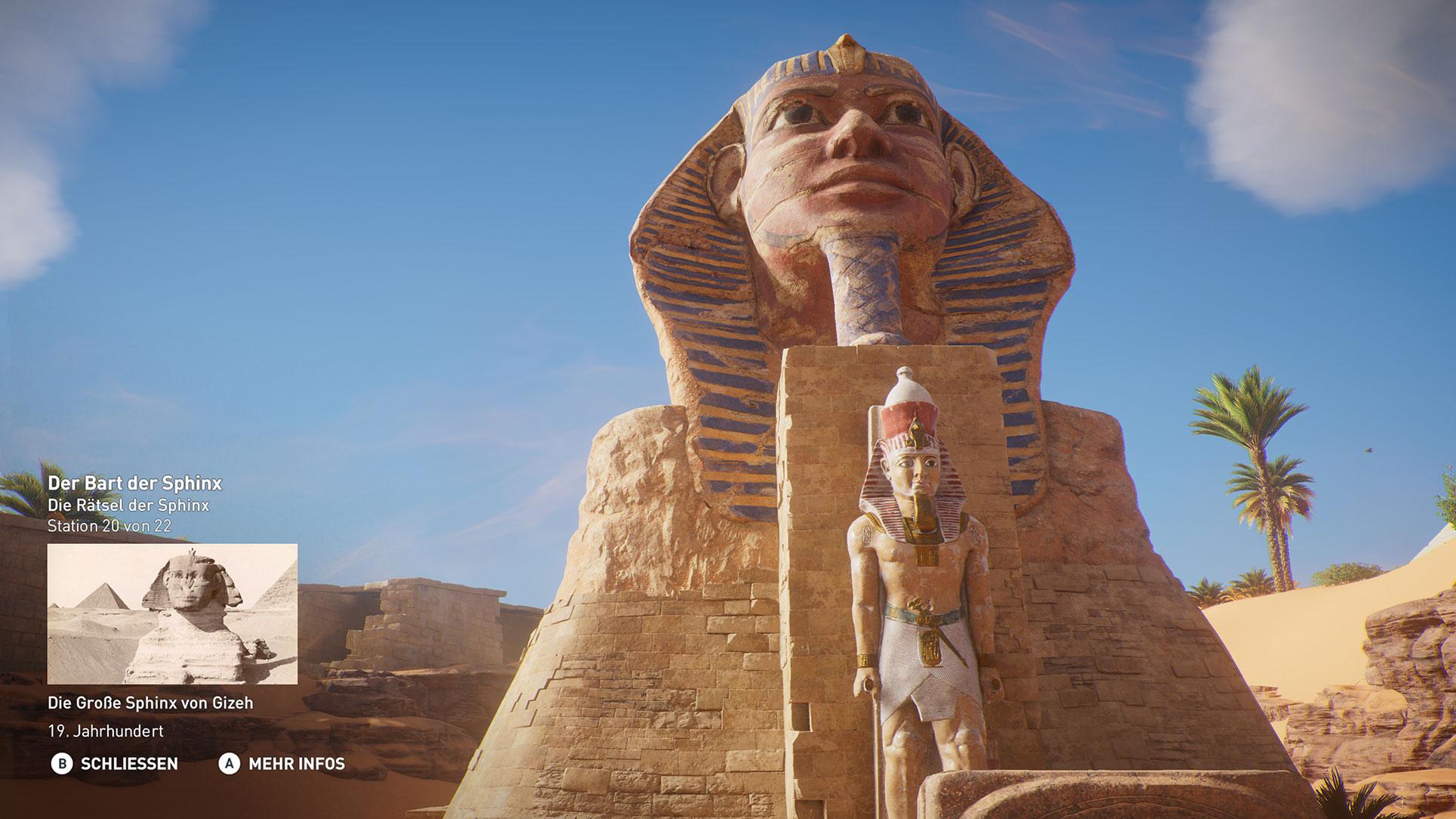 """Bekannte Sehenswürdigkeiten wie die Sphinx gehören ebenso zur """"Discovery""""-Besichtigungstour ..."""