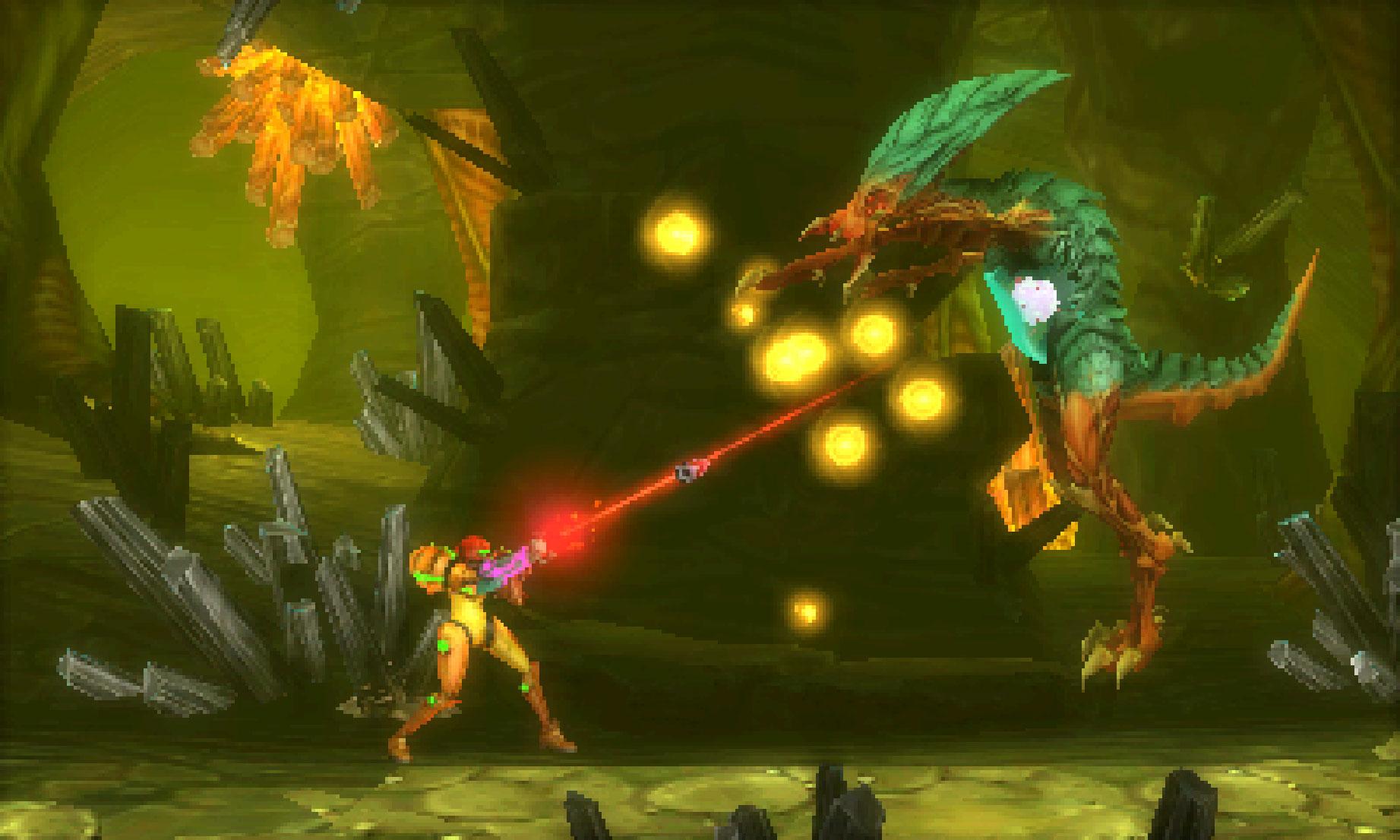 """Auch ein 3DS-Game hat es in die """"DICE Awards"""" geschafft: """"Metroid: Samus Returns"""" ist das """"beste Handheld-Spiel""""."""