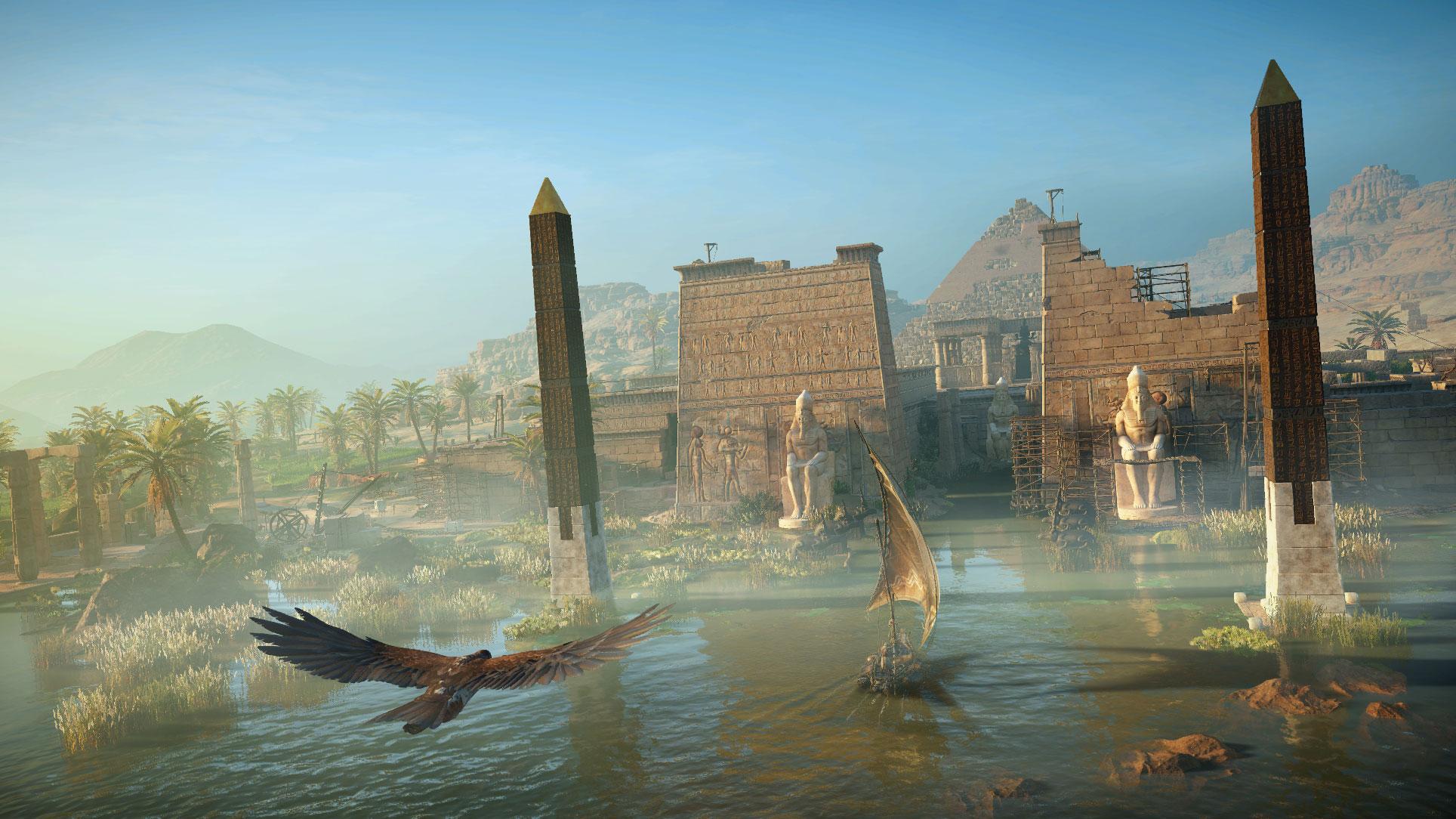 """Auch das Ende 2017 veröffentlichte """"Origins"""" spielt in der Antike. Besonders gelobt wurde das Adventure für sein authentisch gestaltetes Szenario."""