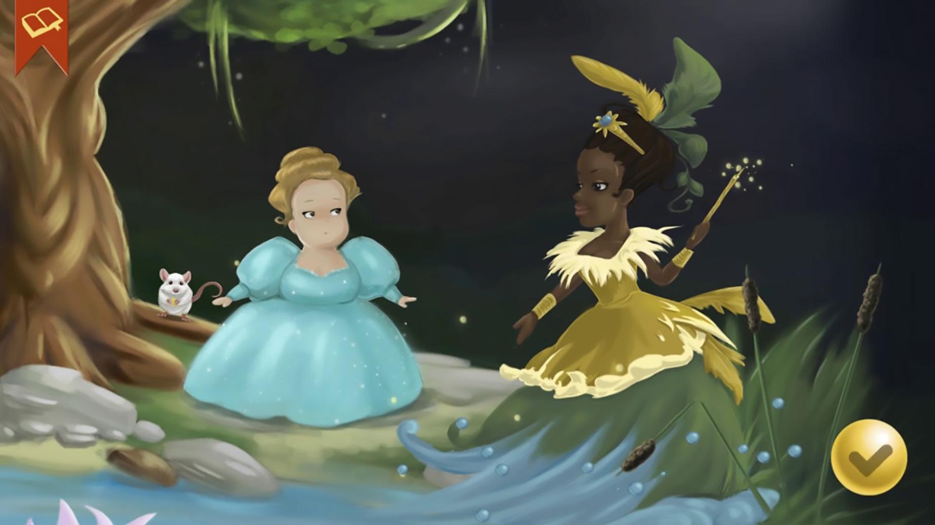 """Bricht mit etablierten Märchen-Klischees: Golden Orbs interaktive Version des """"Aschenputtel""""-Märchens."""