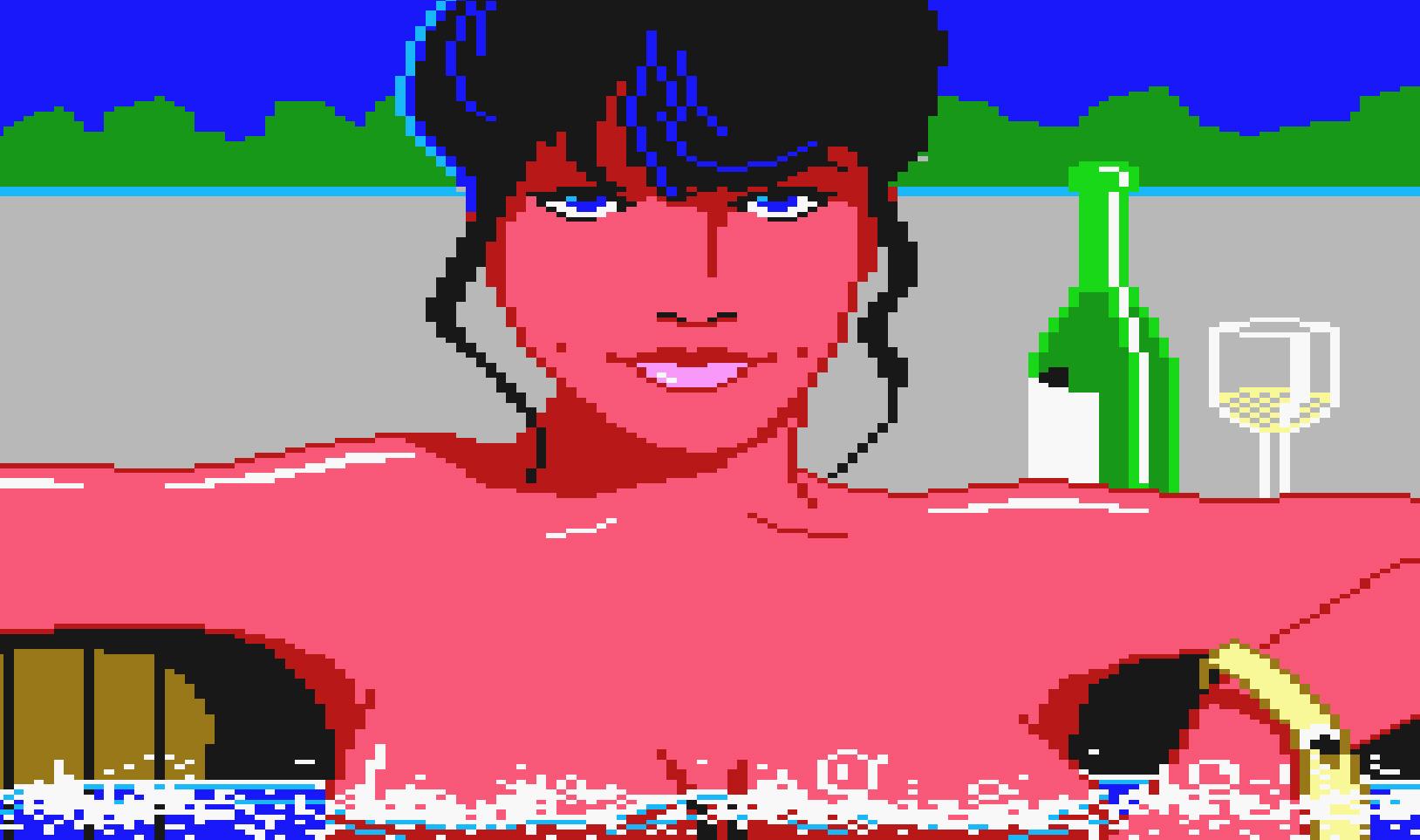 """Hat 1987 durch seine freizügigen Bilder und den schlüpfrigen Humor für Aufsehen gesorgt: Al Lowes Grafik-Adventure """"Leisure Suit Larry in the Land of the Lounge Lizards""""."""