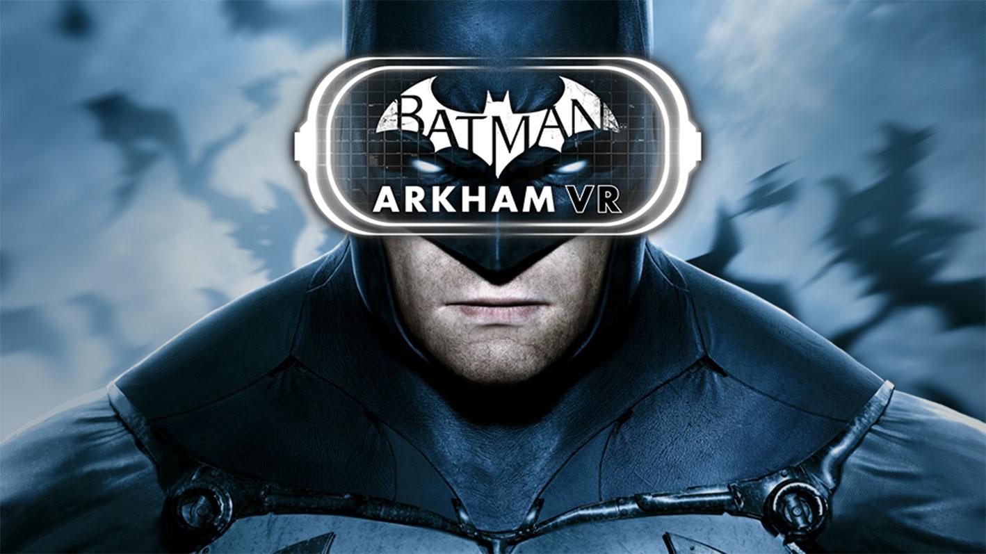 """Und noch mal Johannes Flattermann: Für PlayStation VR rauscht Gothams dunkler Ritter in """"Batman: Arkham VR"""" bald auch durch die Virtuelle Realität. Motion-Sickness ist vorprogrammiert – aber Hochspannung ebenfalls. (13.10 für PS4, PS VR)"""