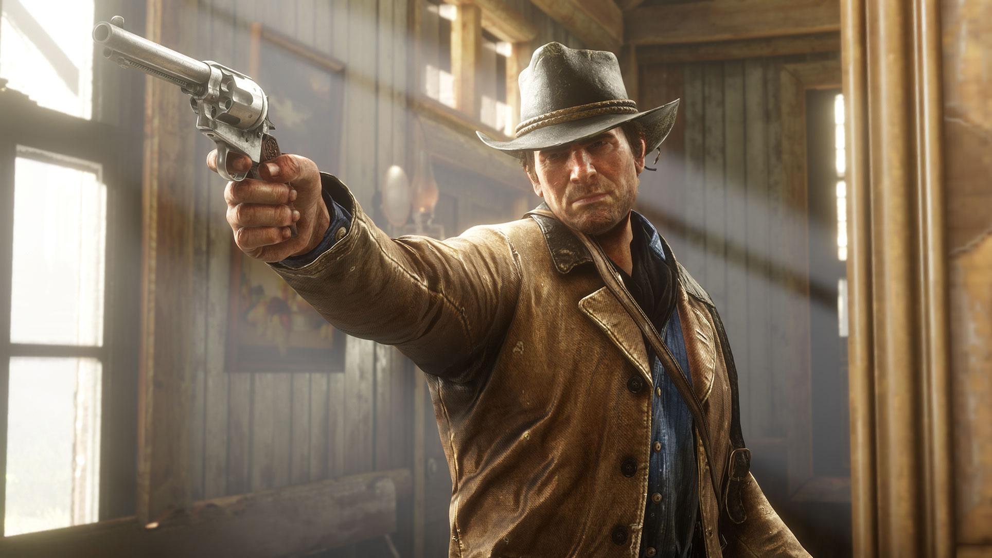 """Hinter """"Red Dead Redemption 2""""-Held Arthur Morgan steckt jahrelange Motion-Capture-Arbeit durch den Schauspieler Roger Clark. Die Arbeit hat sich gelohnt: Clark wurde als bester Live-Action-Darsteller gewählt."""