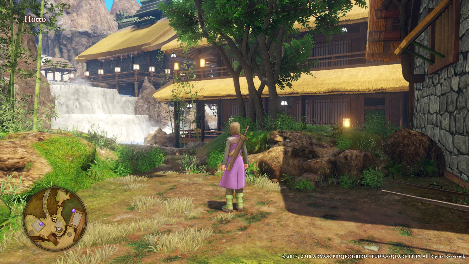 """Städte und Siedlungen sind Serien-typisch klein geraten. Metropolen wie in einem """"Witcher 3"""" dürfen RPG-Ausflügler hier nicht erwarten."""