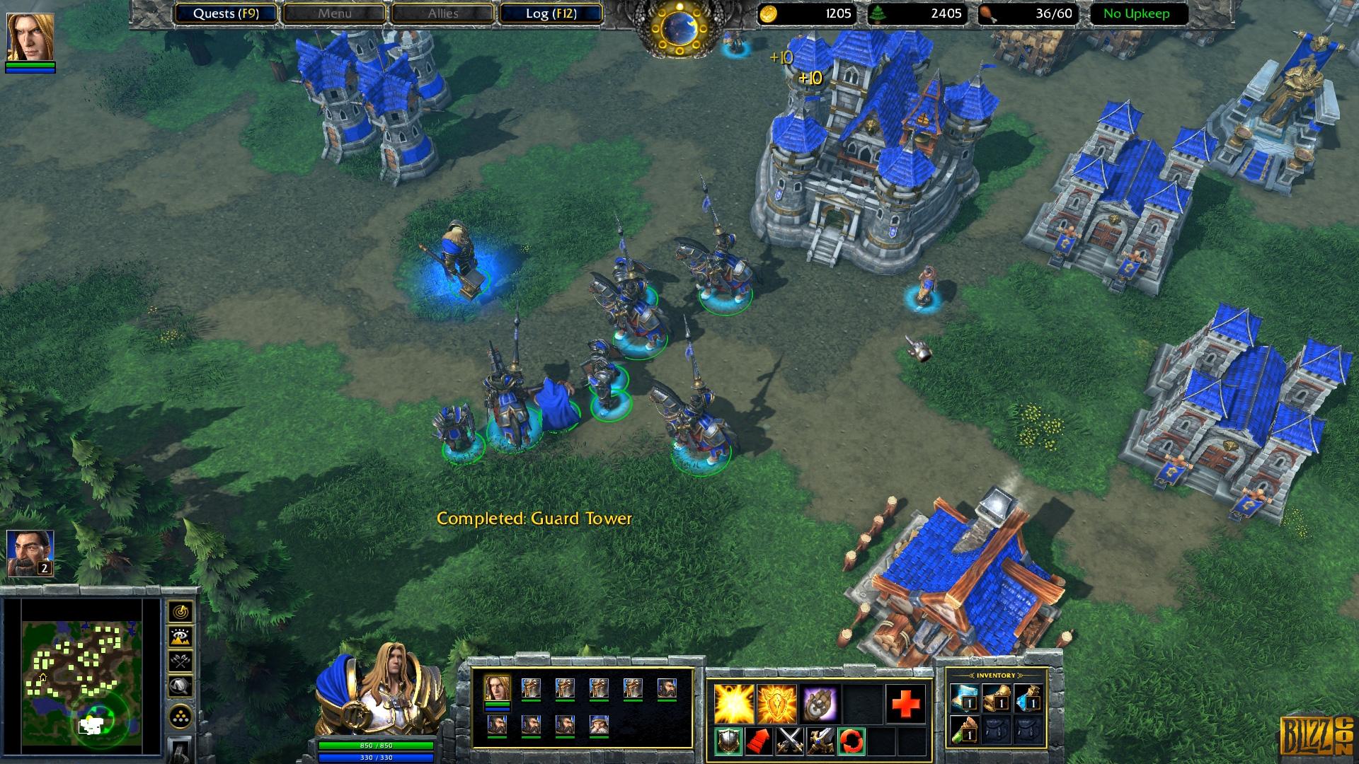 """Das ursprünglich 2002 veröffentlichte """"Warcraft 3"""" war der letzte Ableger der Strategie-Serie, bevor man sie nur zwei Jahre später zugunsten des Online-Rollenspiels """"World of Warcraft"""" aufs Abstellgleis schob."""