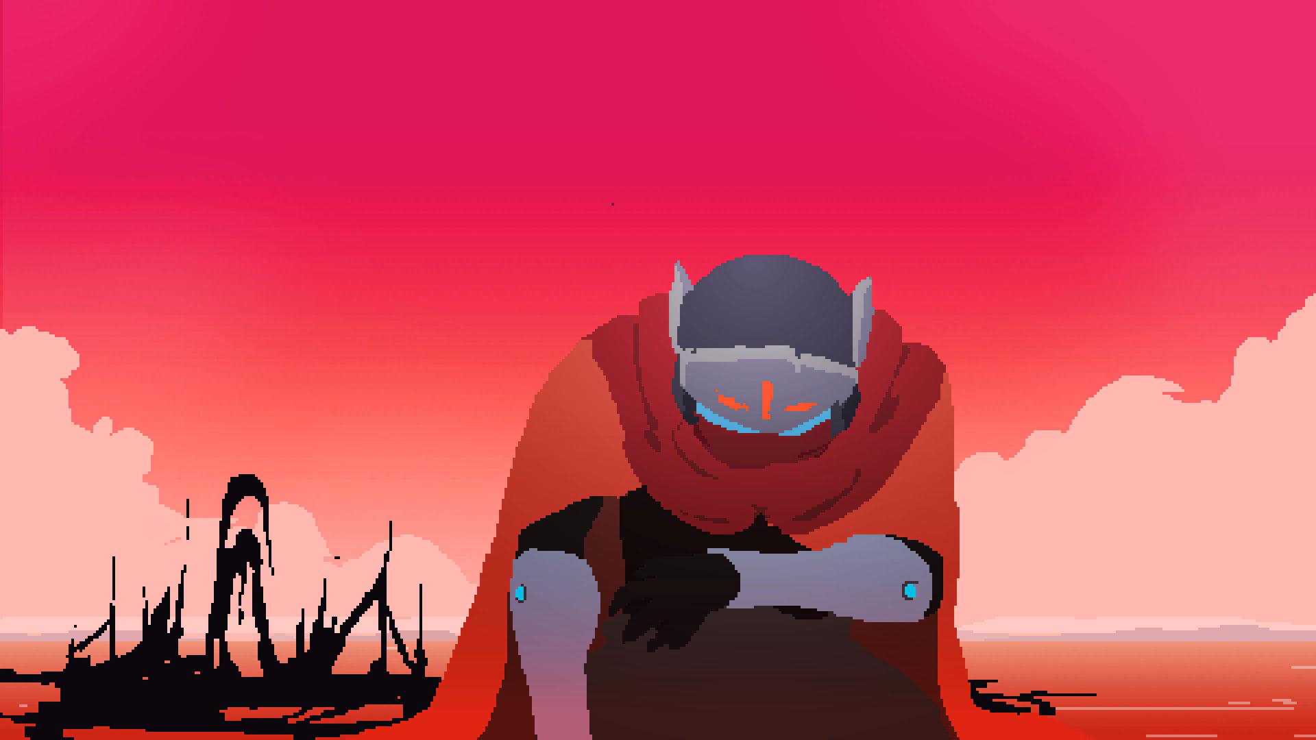 Pixelige Bildsprache Und Ein Herzkranker Held Der Hyper Light