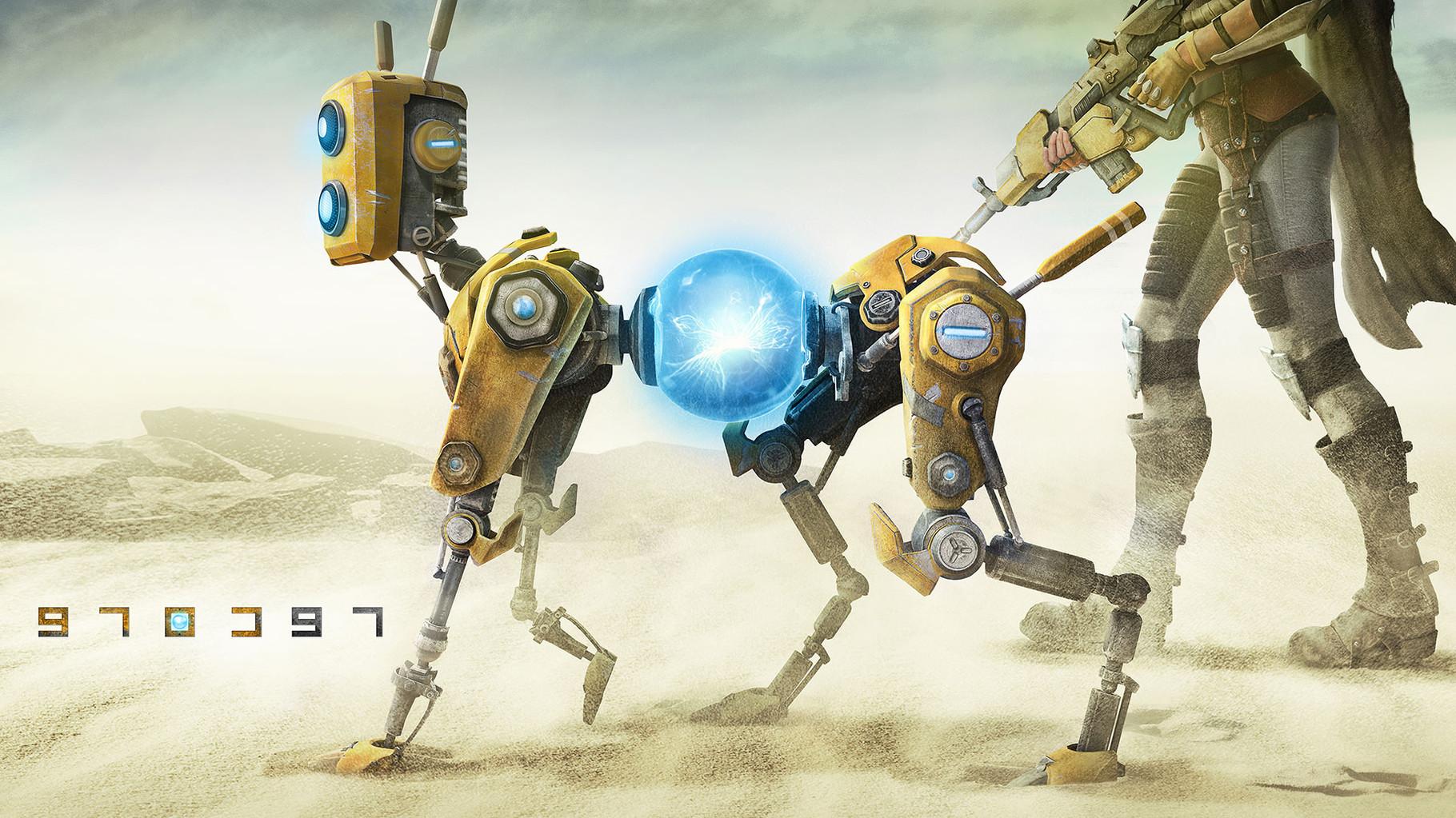 """Recore: Zu den großen Überraschungen der Microsoft-Konferenz gehörte der Trailer eines neues Spiels vom japanischen Designer-Promi Keiji Inafune (""""Mega Man"""", """"Onimusha""""): Der vorgerenderte """"Recore""""-Teaser zeigte Heldin nebst Roboter-Hund."""