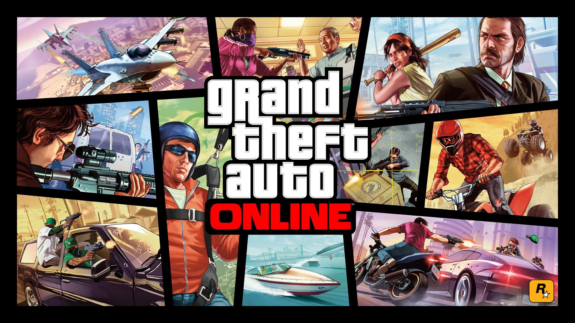 """Hat zusammen mit Versionen für PS4 und Xbox One wesentlich dazu beigetragen, dass sich """"GTA 5"""" auch fünf Jahre nach seiner Erstveröffentlichung noch glänzend verkauft: """"GTA Online""""."""